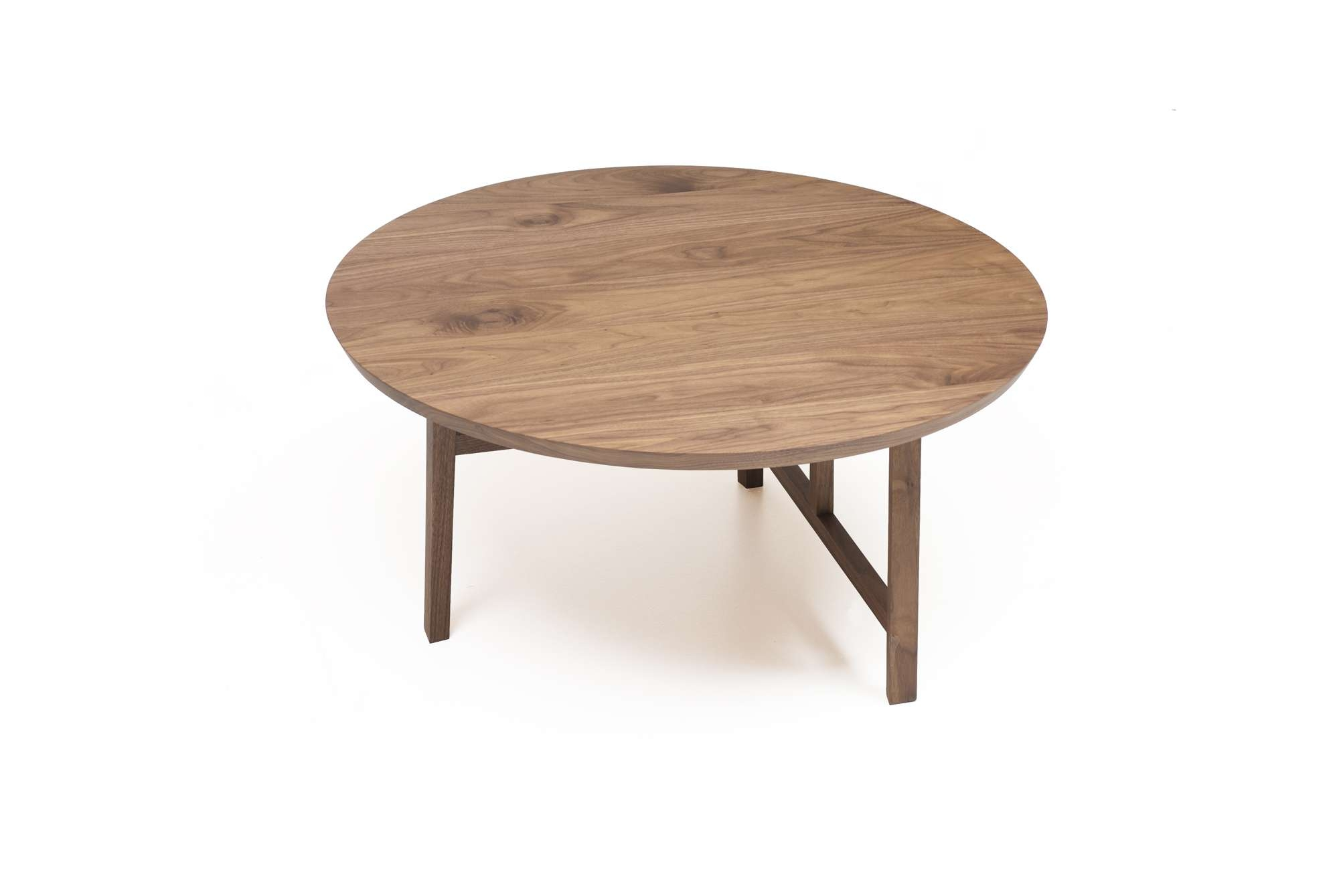 Small Circular Coffee Table – Round Shaped Coffee Table, Thick Within Most Up To Date Small Circular Coffee Table (View 12 of 20)