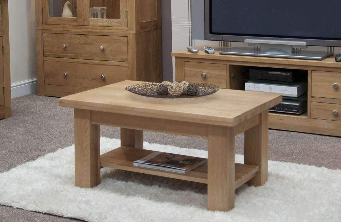 Small Coffee Table: Excellent Small Coffee Tables Design Ideas Pertaining To Most Popular Small Oak Coffee Tables (View 4 of 20)