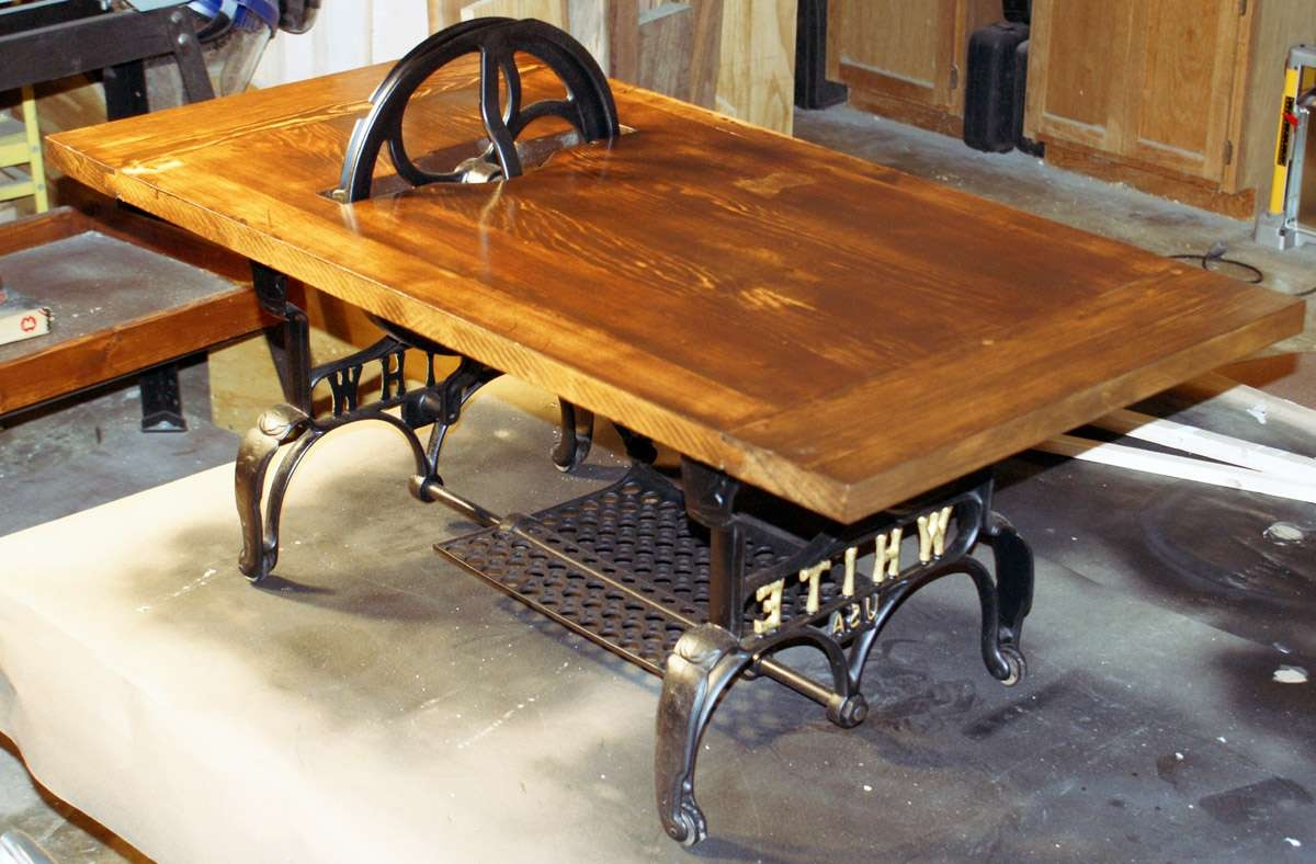 Small Industrial Style Coffee Table • Coffee Table Design Regarding Current Coffee Table Industrial Style (View 19 of 20)