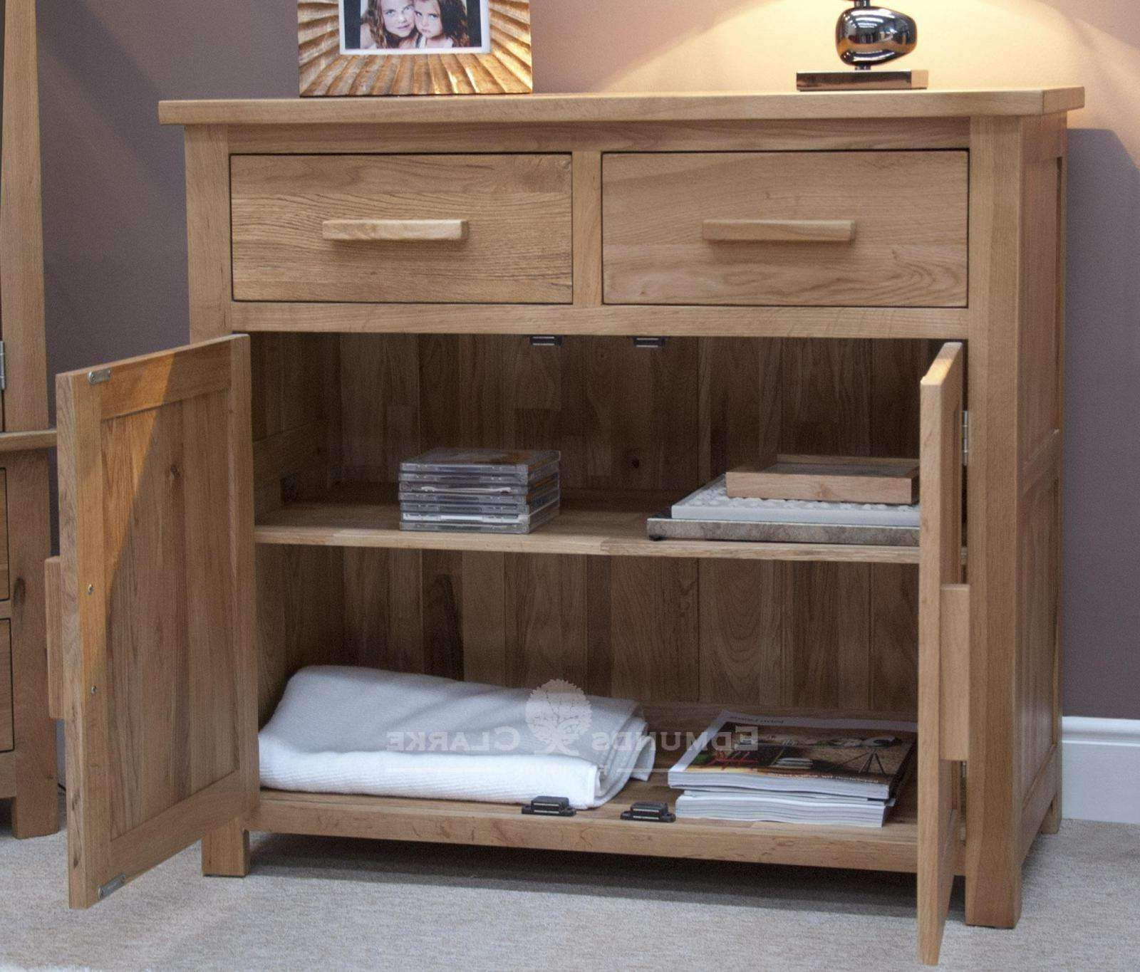 Small Sideboard – Oak Sideboards For The Kitchen, Dining Room Or With Lounge Sideboards (View 4 of 20)