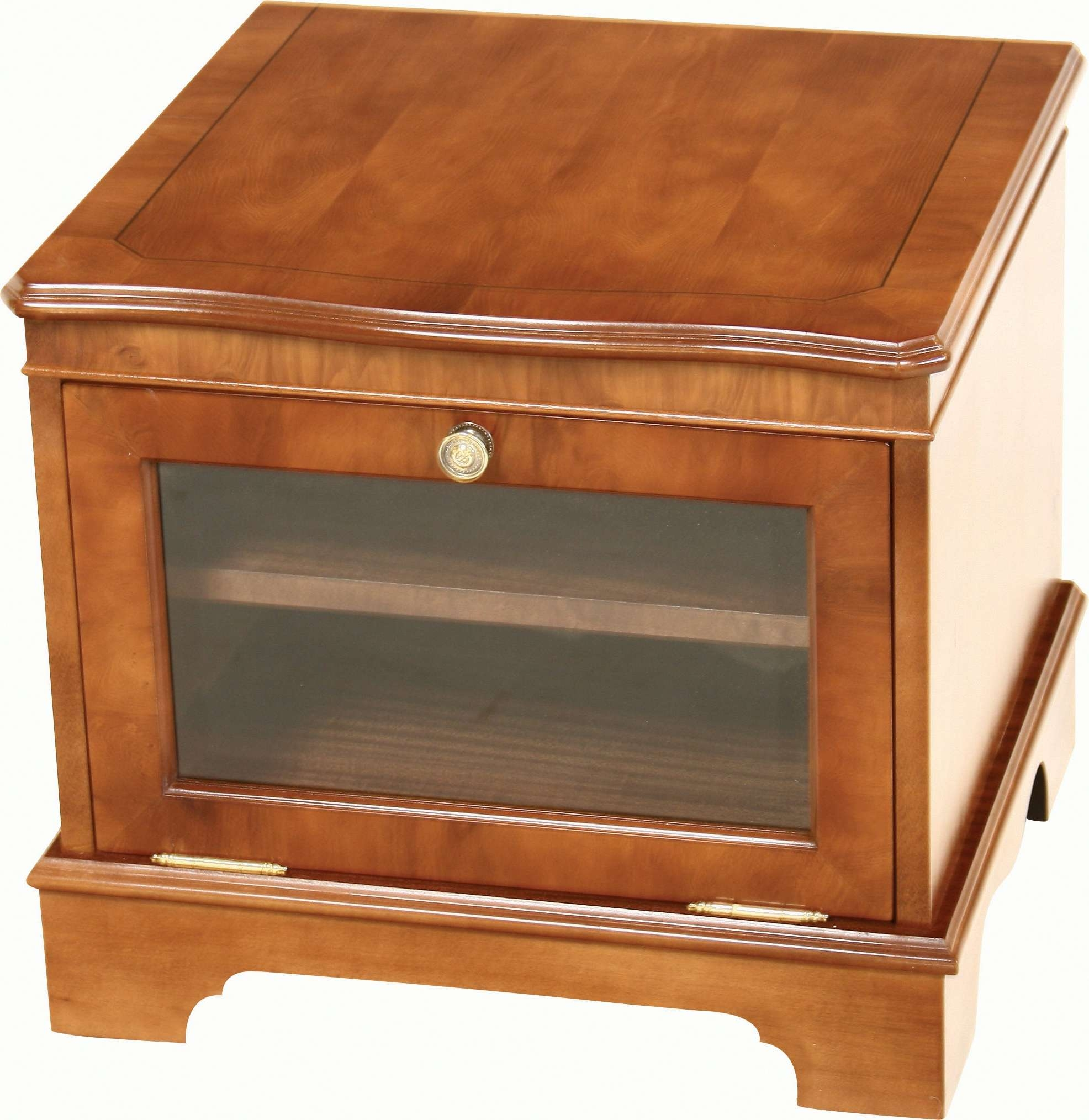 Small Tv Stand Glass – Tv Stands And Cabinets Throughout Mahogany Tv Cabinets (View 11 of 20)