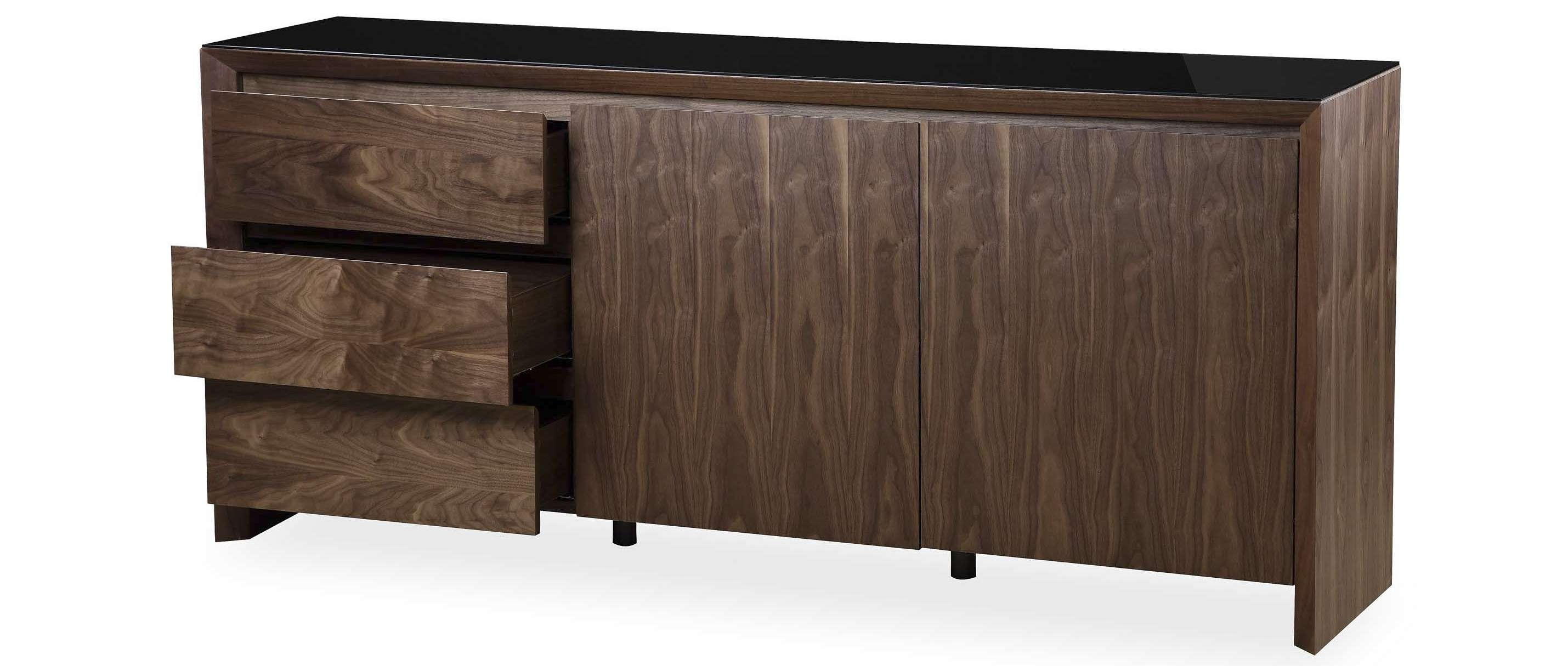 Soho – Extra Large Sideboard – Walnut For Extra Deep Sideboards (View 19 of 20)
