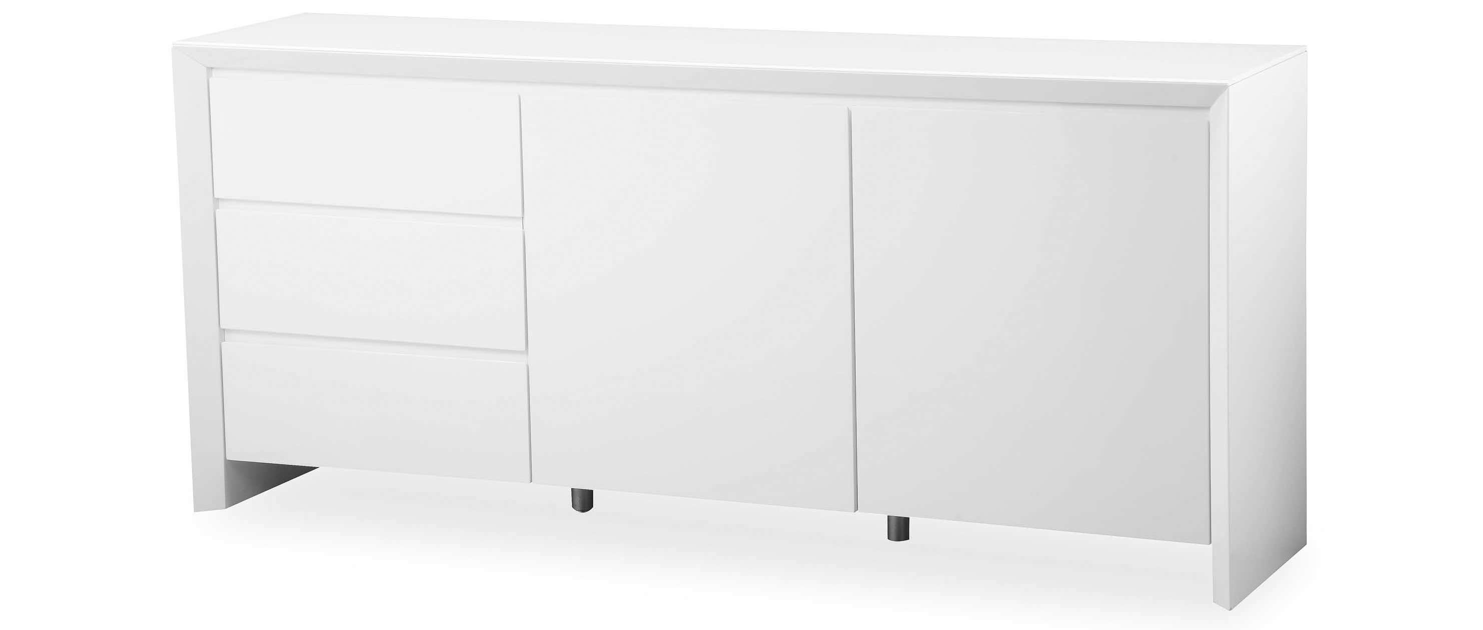 Soho – Extra Large Sideboard – White High Gloss Within Extra Deep Sideboards (View 19 of 20)