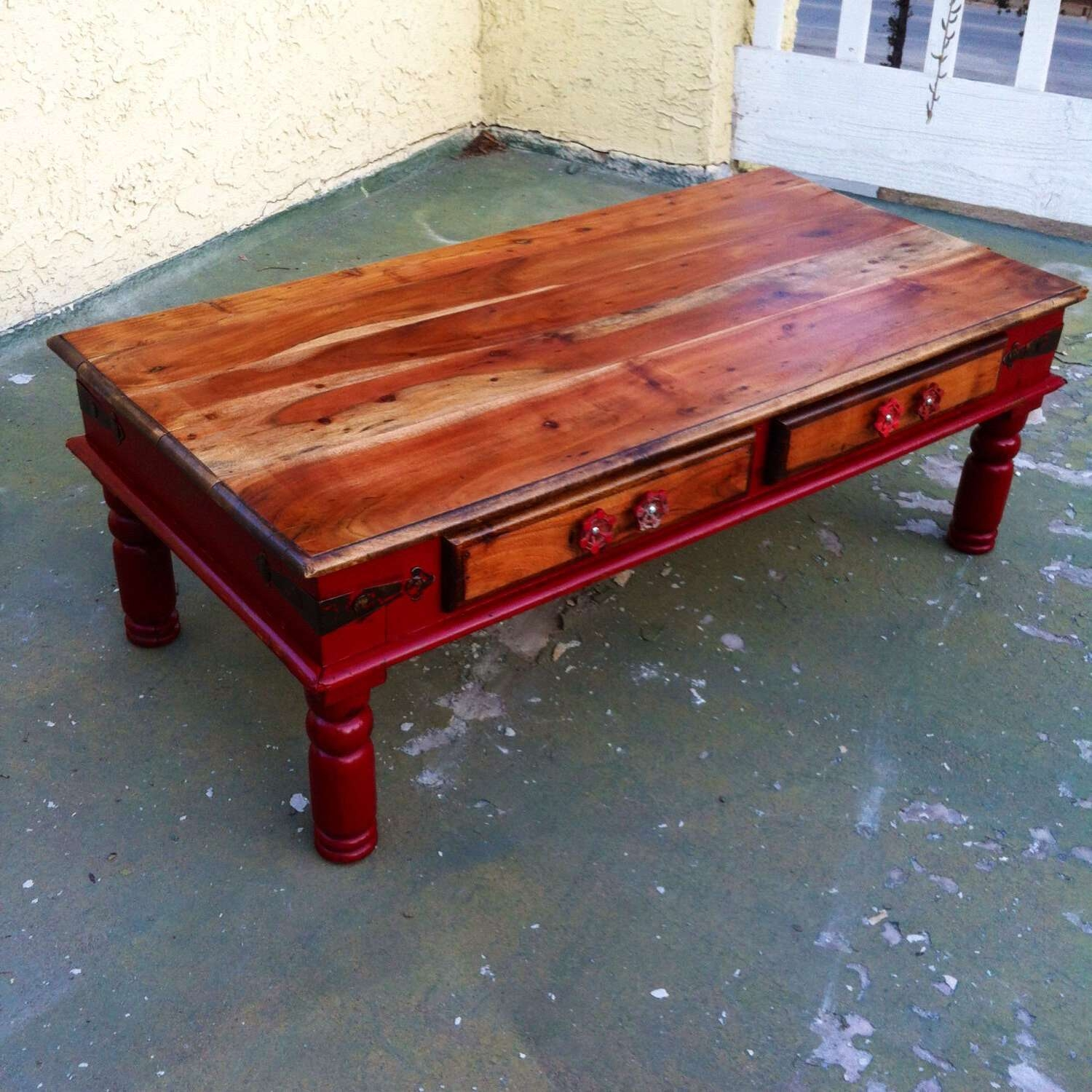 Featured Photo of Red Coffee Tables