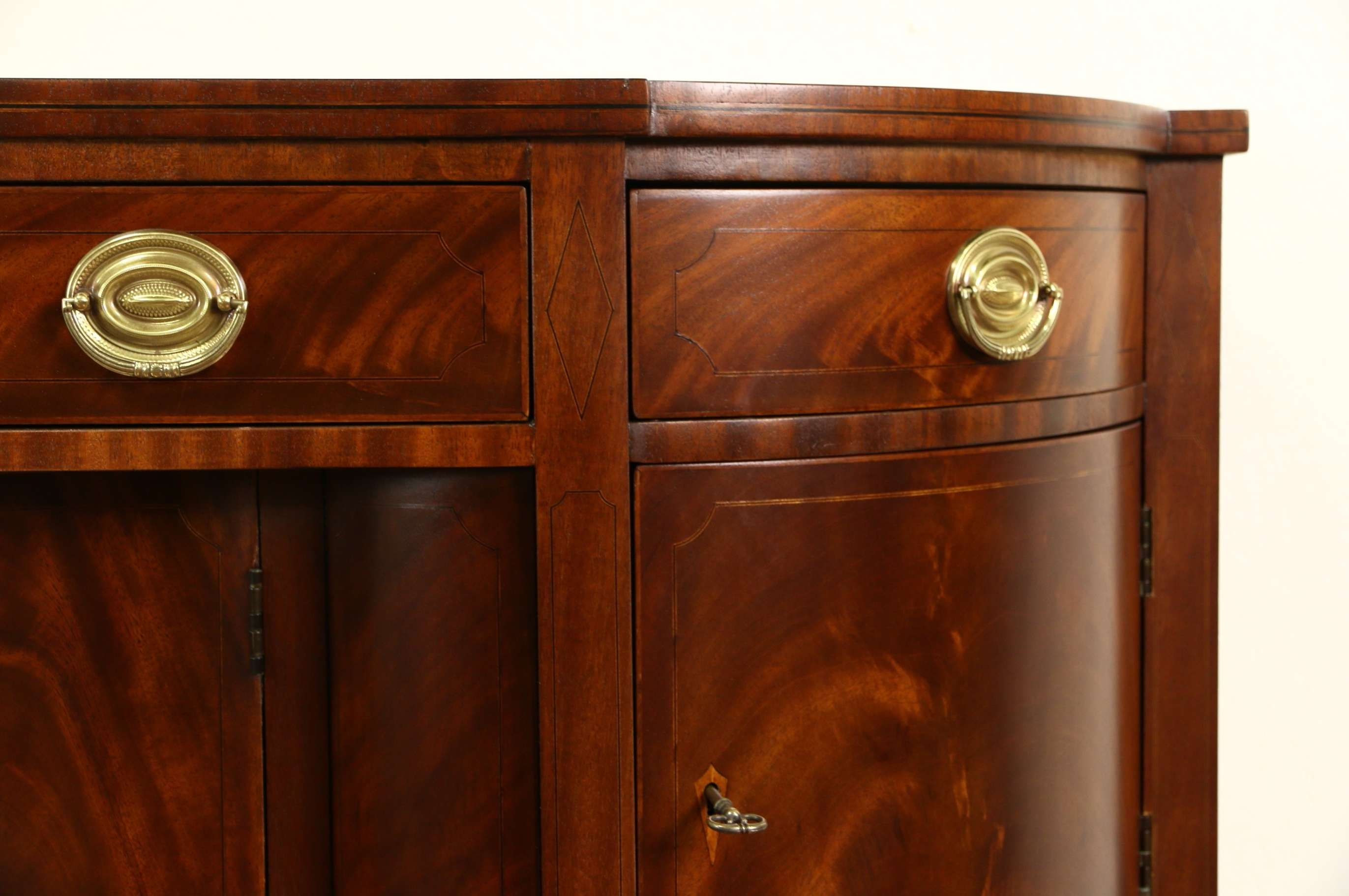 Sold – Henredon Natchez Collection Vintage Mahogany Sideboard Inside Vintage Sideboards And Buffets (View 13 of 20)