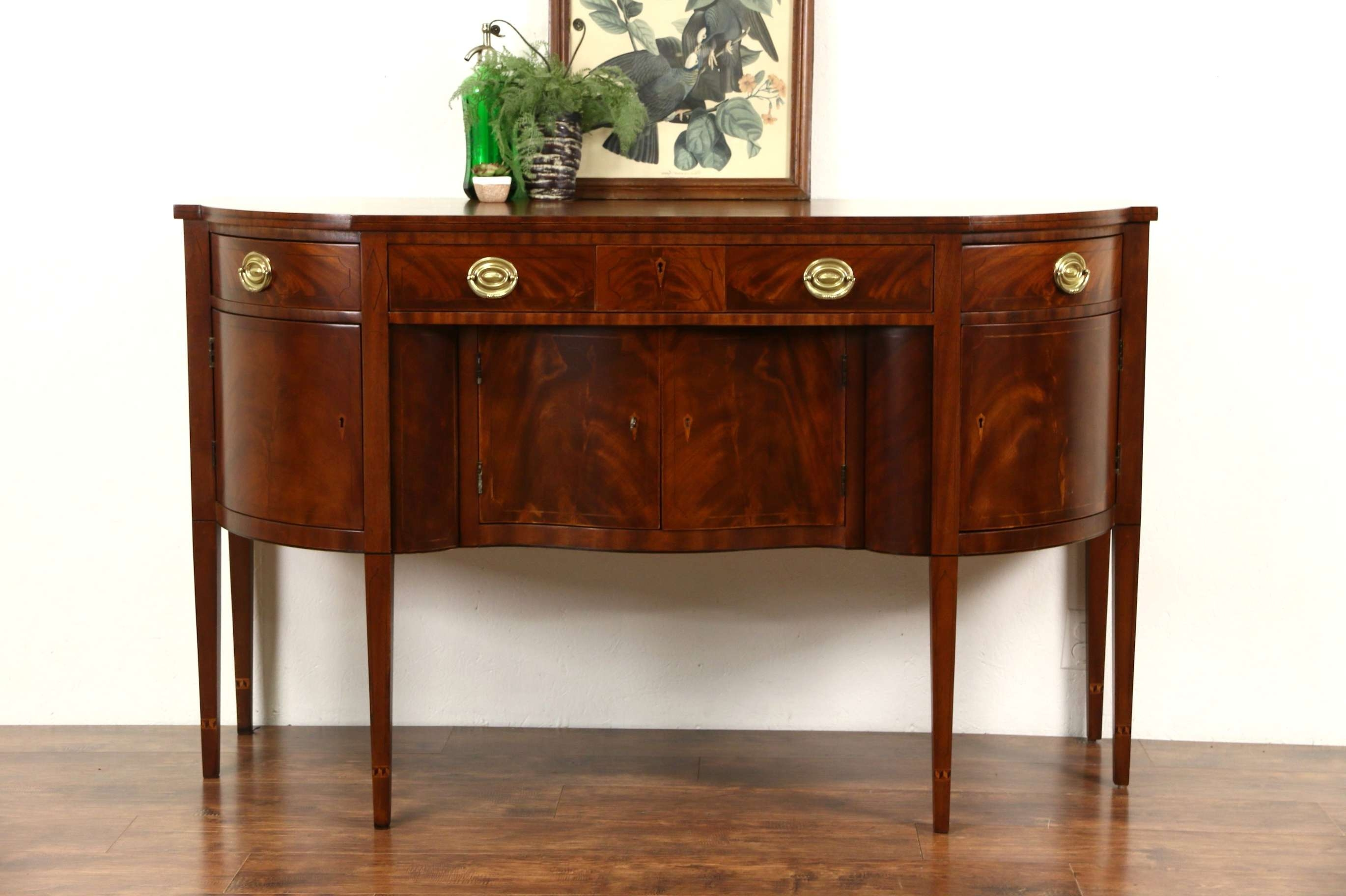 Sold – Henredon Natchez Collection Vintage Mahogany Sideboard With Mahogany Sideboards Buffets (View 18 of 20)