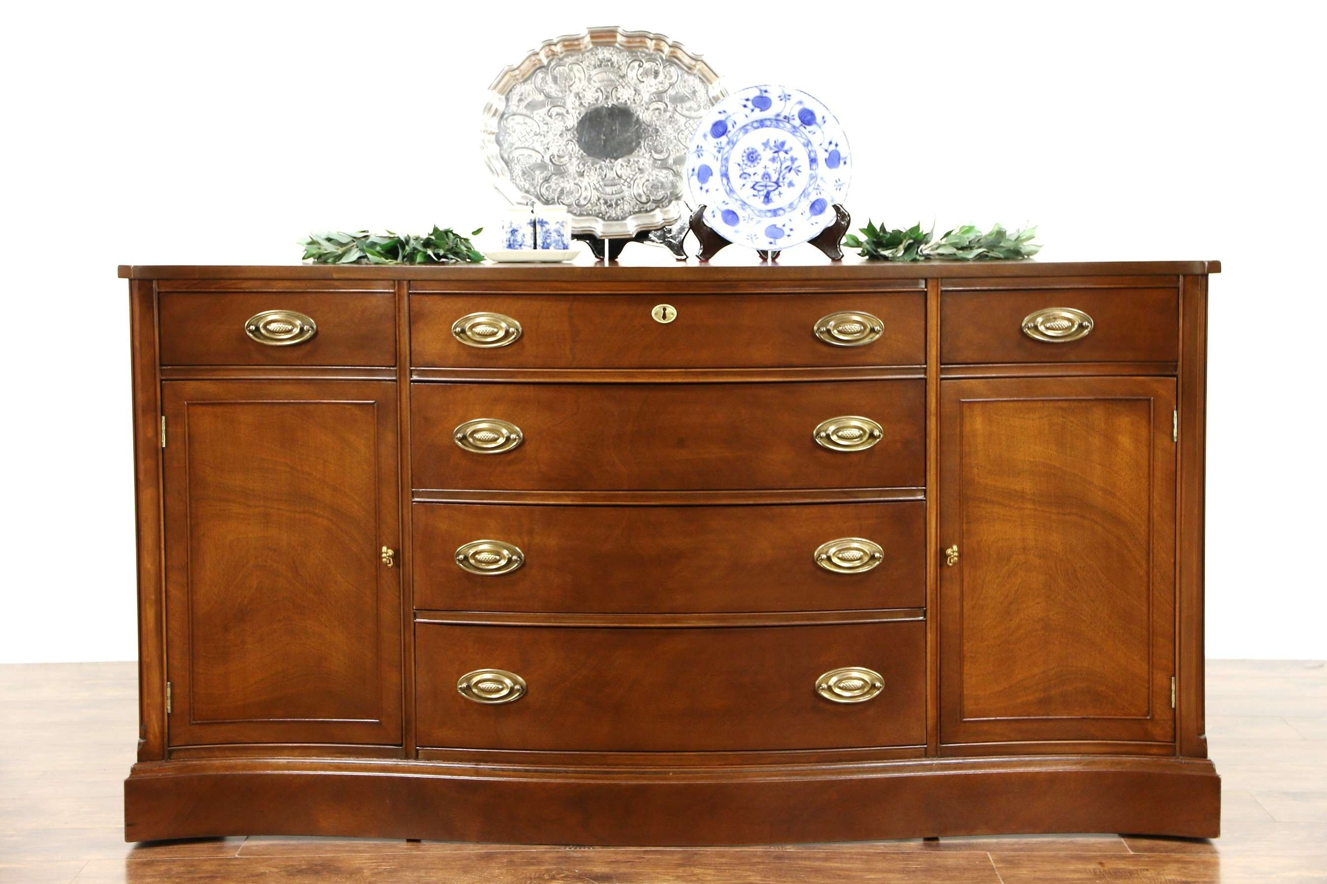 Sold – Traditional Vintage Mahogany Sideboard, Server Or Buffet Throughout Mahogany Sideboards Buffets (View 20 of 20)