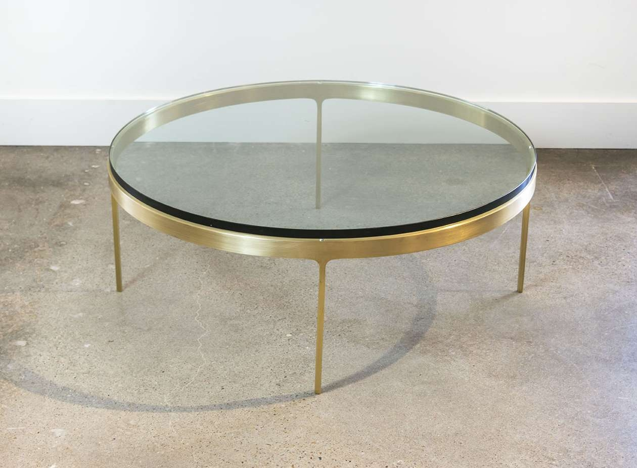 Solid Bronze Round Coffee Tablenicos Zographos (View 16 of 20)