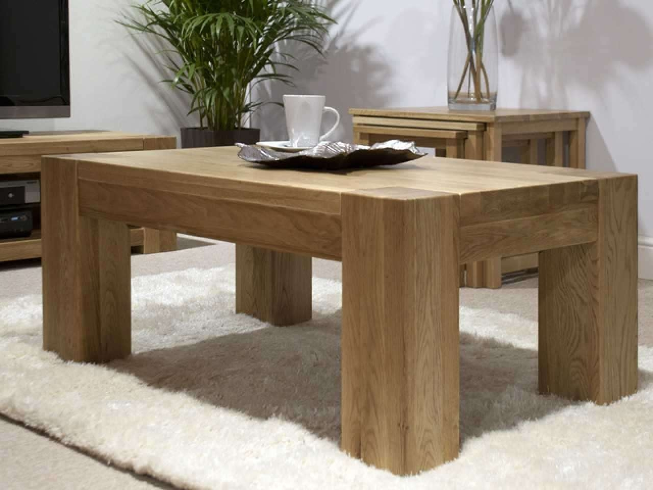 Solid Coffee Table (View 5 of 20)