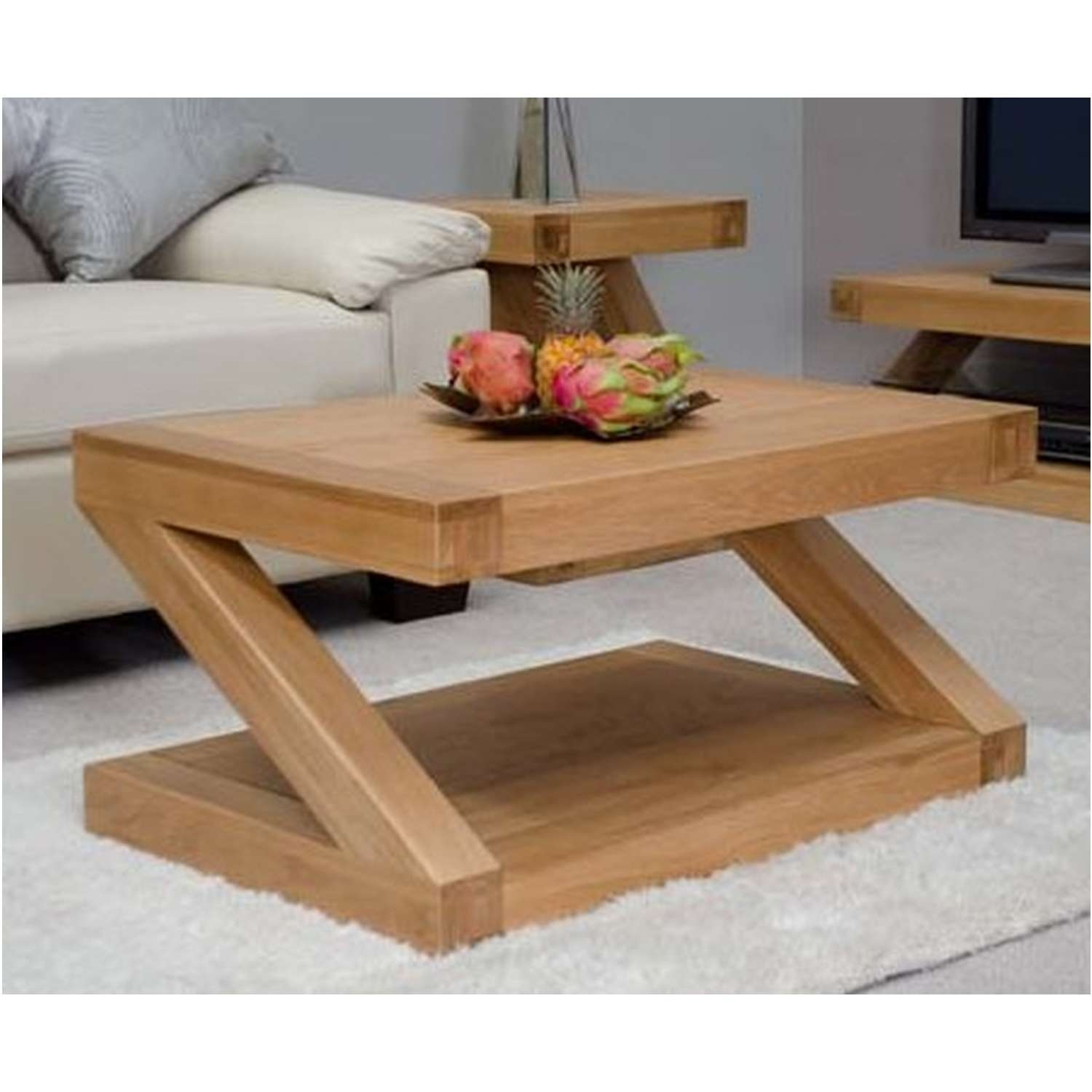 Solid Oak Coffee Tables For Popular Solid Oak Coffee Tables (View 16 of 20)