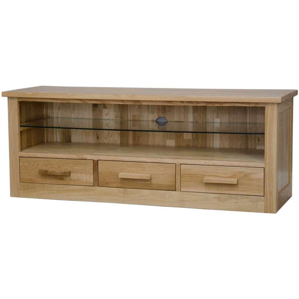 Solid Oak Furniture, Oak Television Cabinet, Living Room Furniture Intended For Solid Oak Tv Cabinets (View 9 of 20)