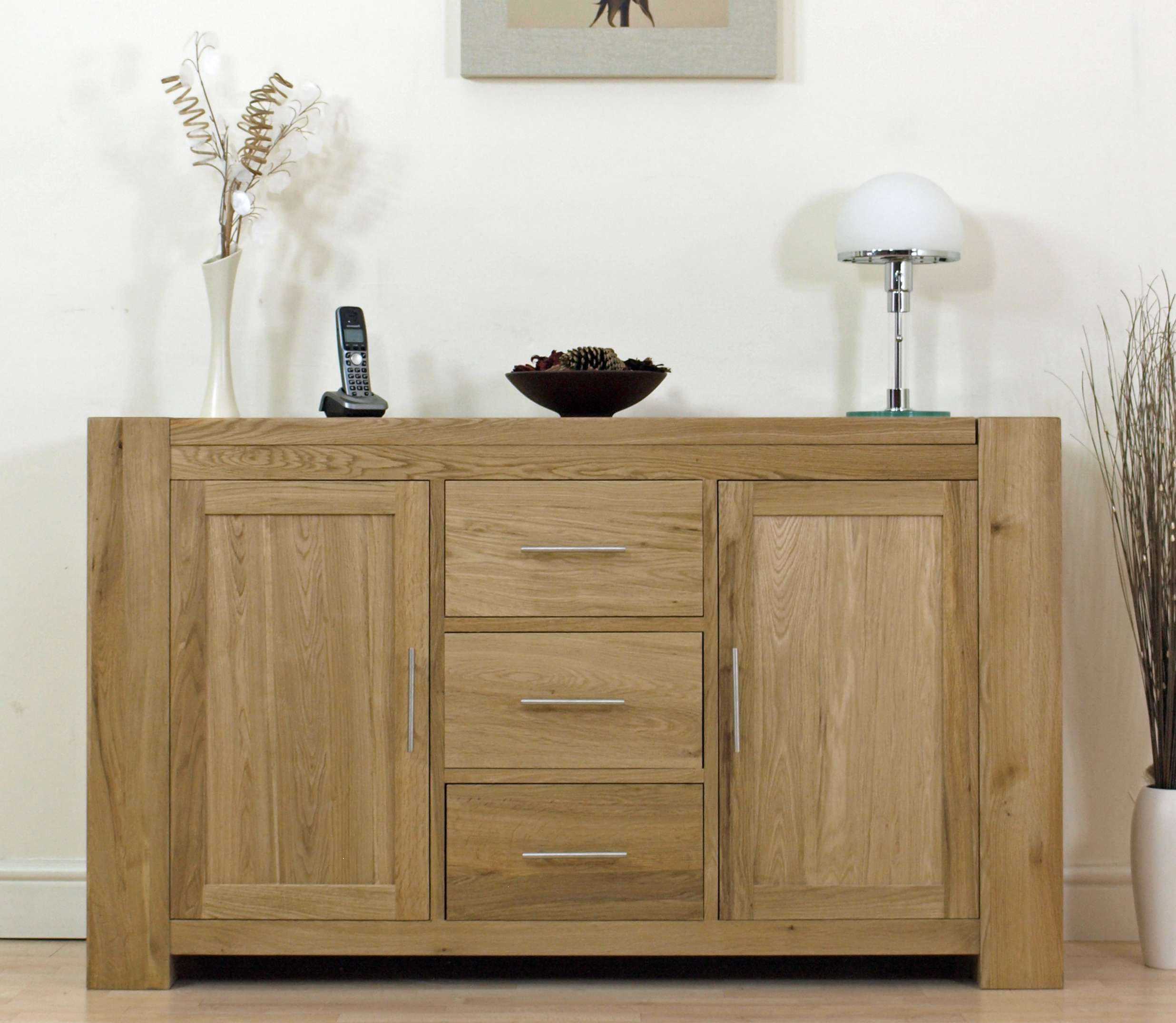 Solid Oak Sideboard Is Your First Choice Living Room Furniture – Hgnv With Living Room Sideboards (View 13 of 20)