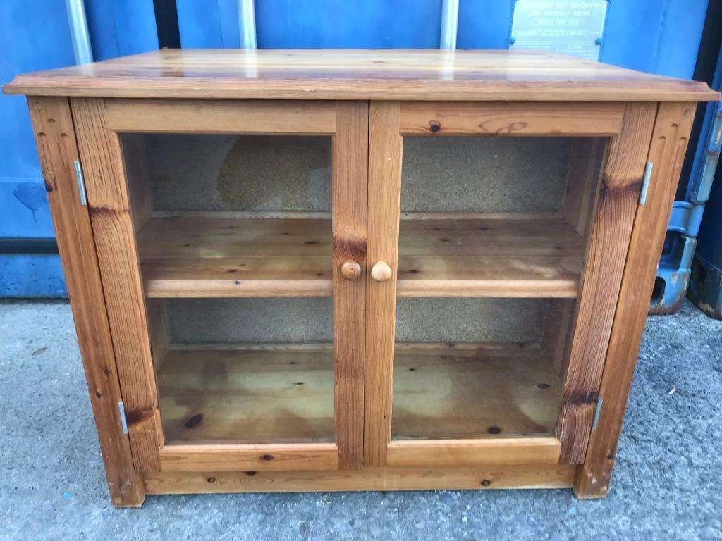 Solid Pine Tv Cabinet Free Delivery Plymouth Area | In Plymouth In Solid Pine Tv Cabinets (View 13 of 20)
