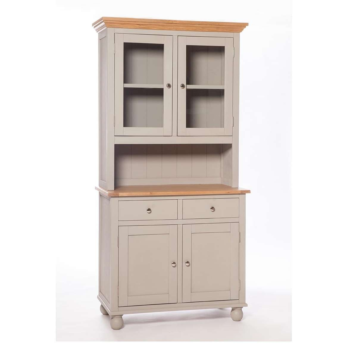 Somerset Small Kitchen Dresser | Woodlands Furniture Regarding Narrow Kitchen Sideboards (View 7 of 20)