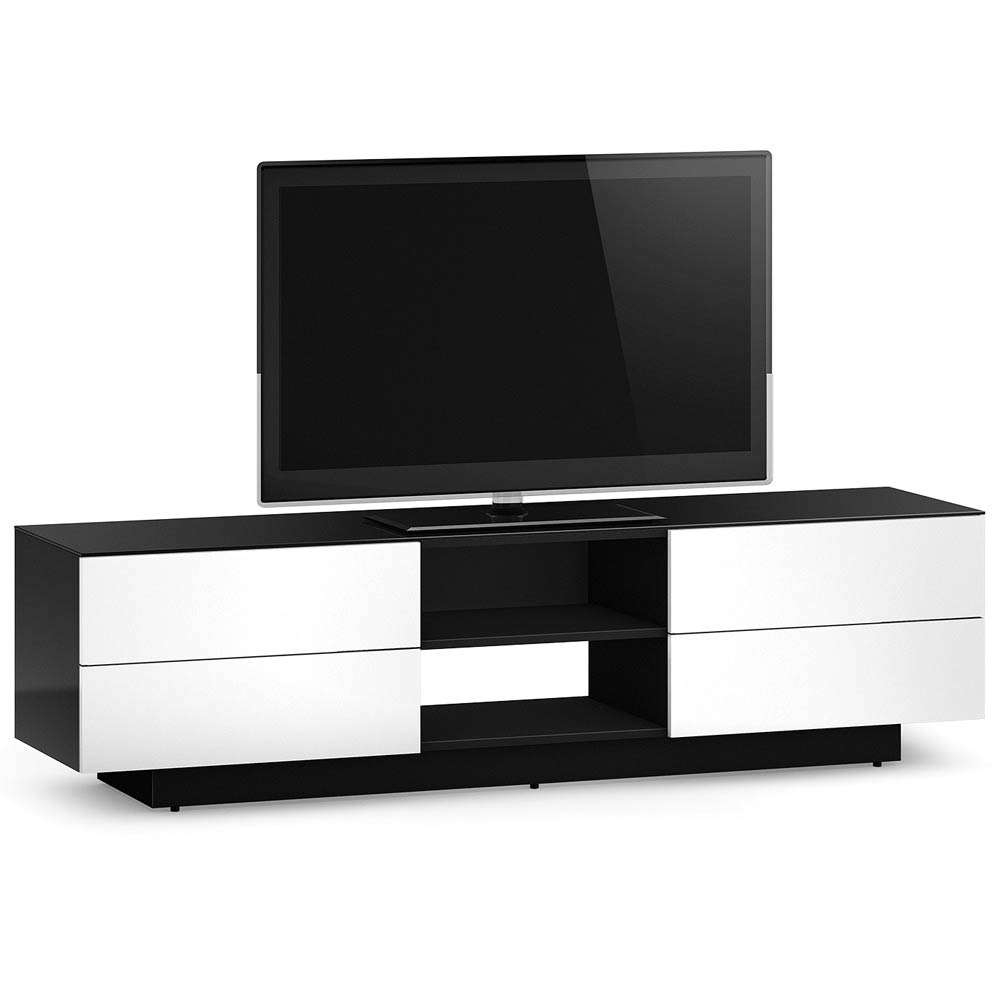 """Sonorous Lba1840 Tv Cabinet For Tvs Up To 80"""", White 