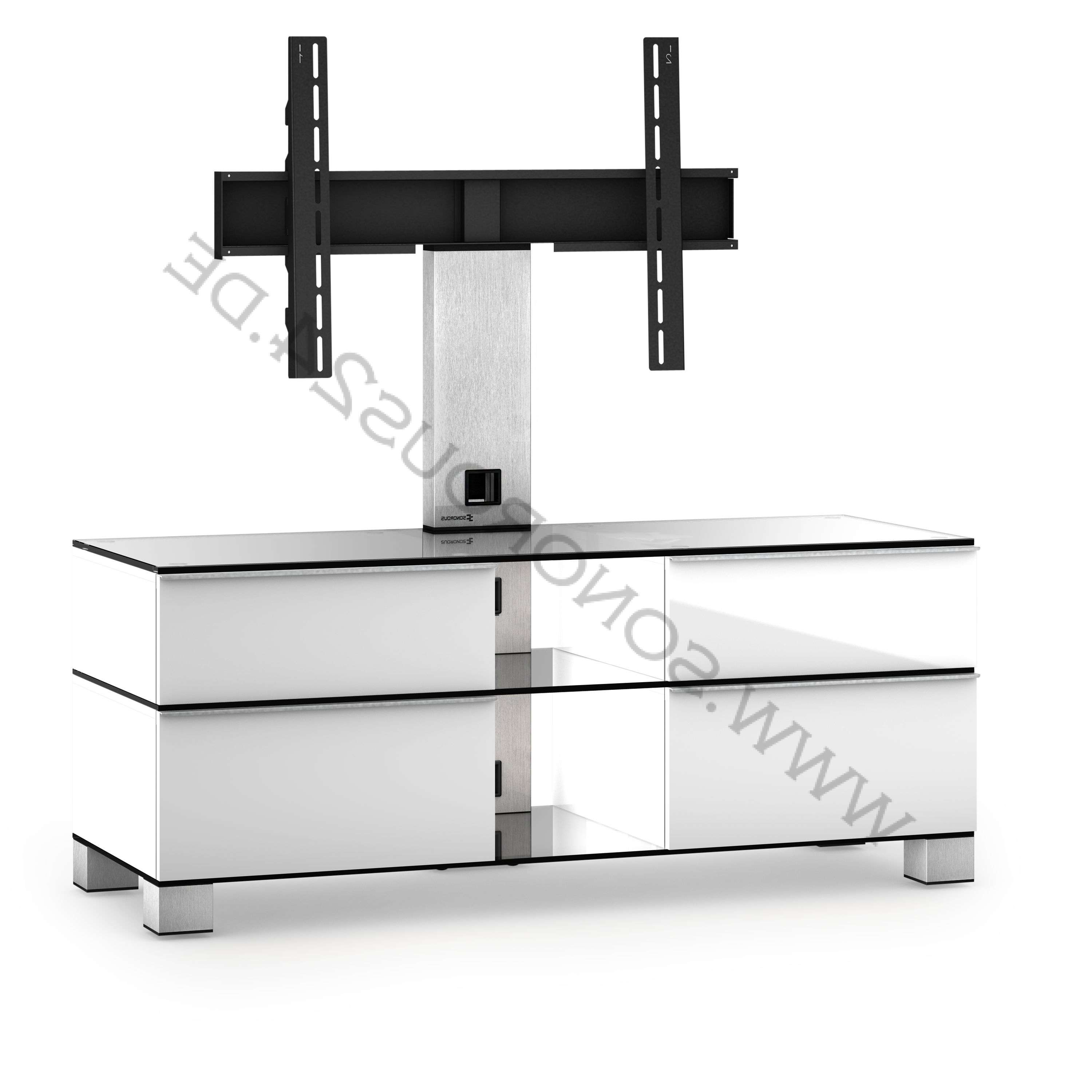 Sonorous Tv Rack, Tv 50 Inch – Sonorous – Md 8220 C Inx Wht Md With Regard To Sonorous Tv Cabinets (View 17 of 20)