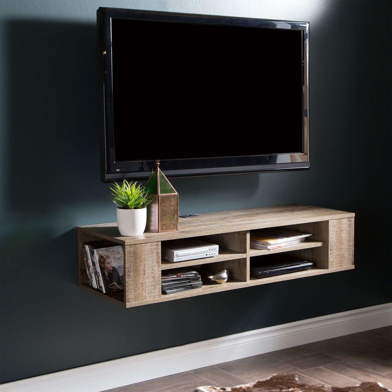 "South Shore City Life 48"" Wall Mounted Media Console 
