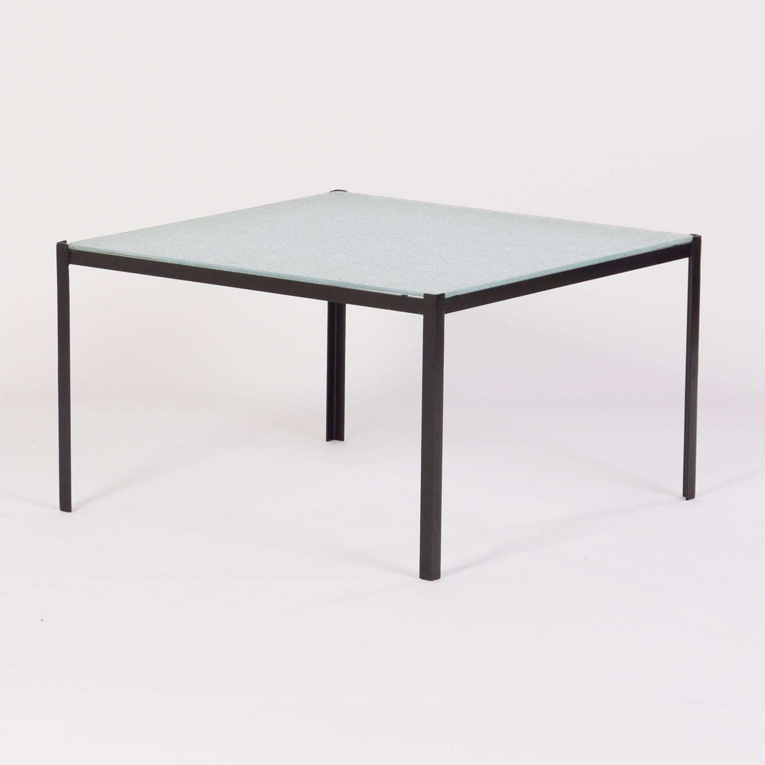 Square Coffee Table With Wire Glass, 1960S – Ztijl (View 18 of 20)