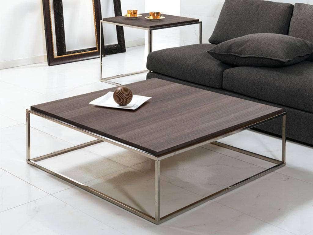 Square Coffee Tables Contemporary : Beblincanto Tables – Square Intended For 2018 Square Coffee Tables (View 14 of 20)