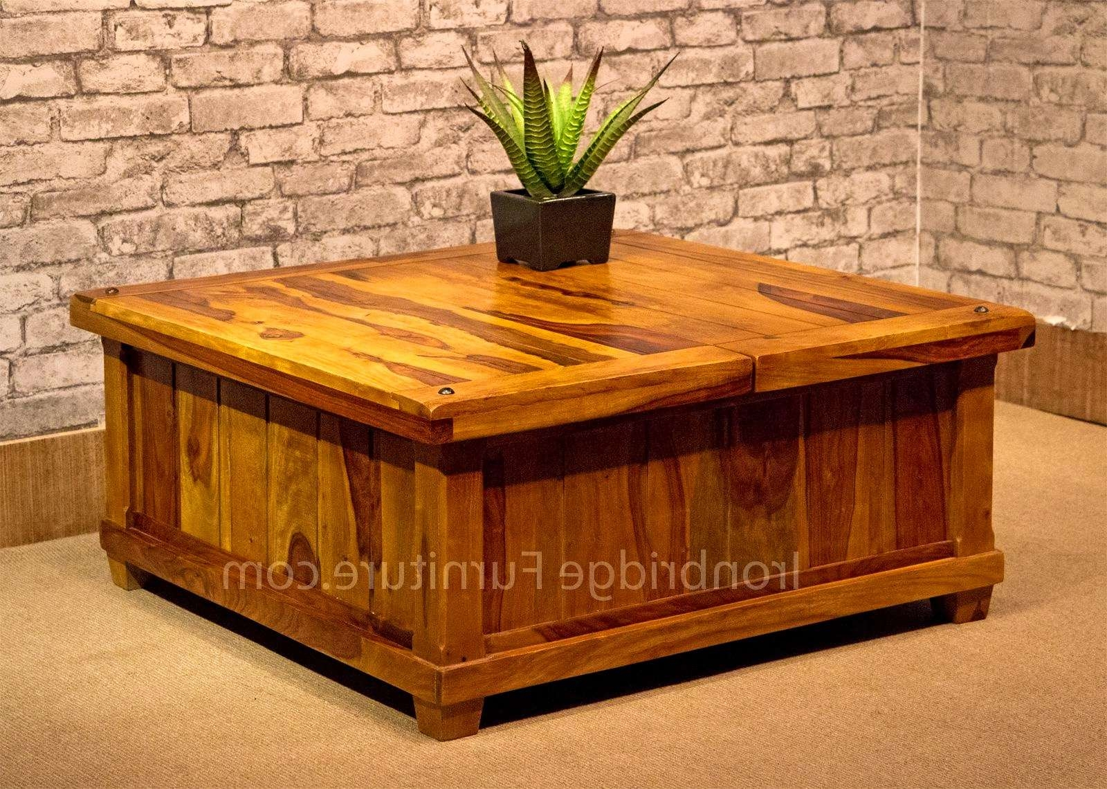 Featured Photo of Square Chest Coffee Tables