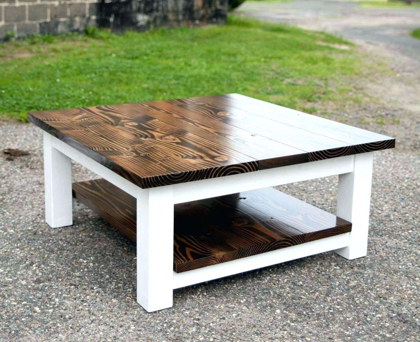 Square White Coffee Table Perfect For Interior Decor Storage Intended For Most Popular Square White Coffee Tables (View 16 of 20)