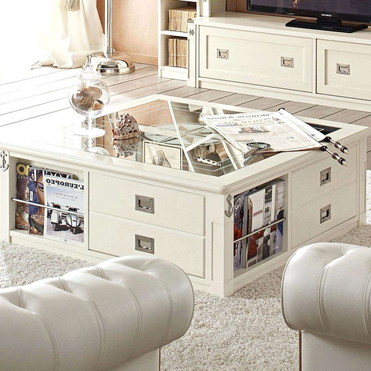 Square White Coffee Table Perfect For Large Room Coffee Table With Regard To Well Known Square White Coffee Tables (View 18 of 20)