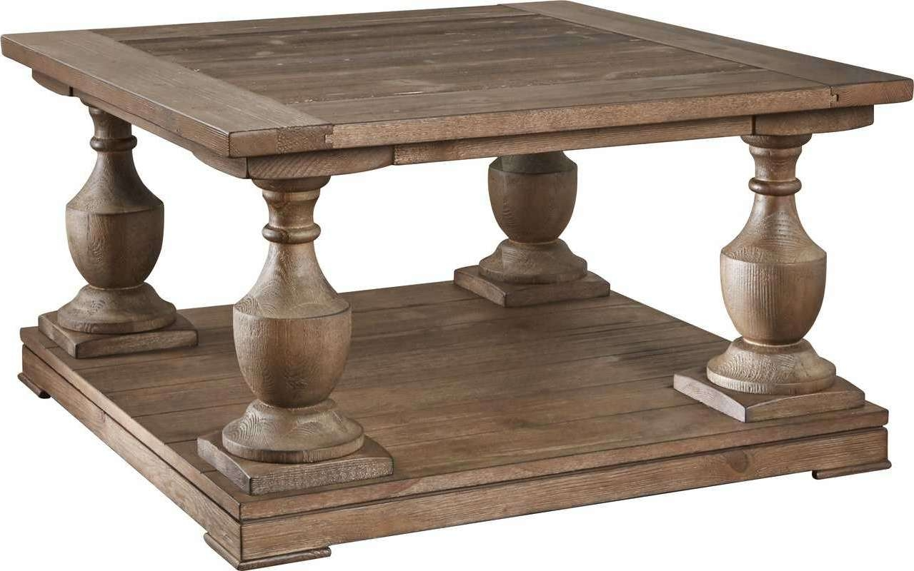 Square Wood Coffee Table – Lark Manor Etchemin Coffee Tablereviews Intended For Current Square Large Coffee Tables (View 16 of 20)