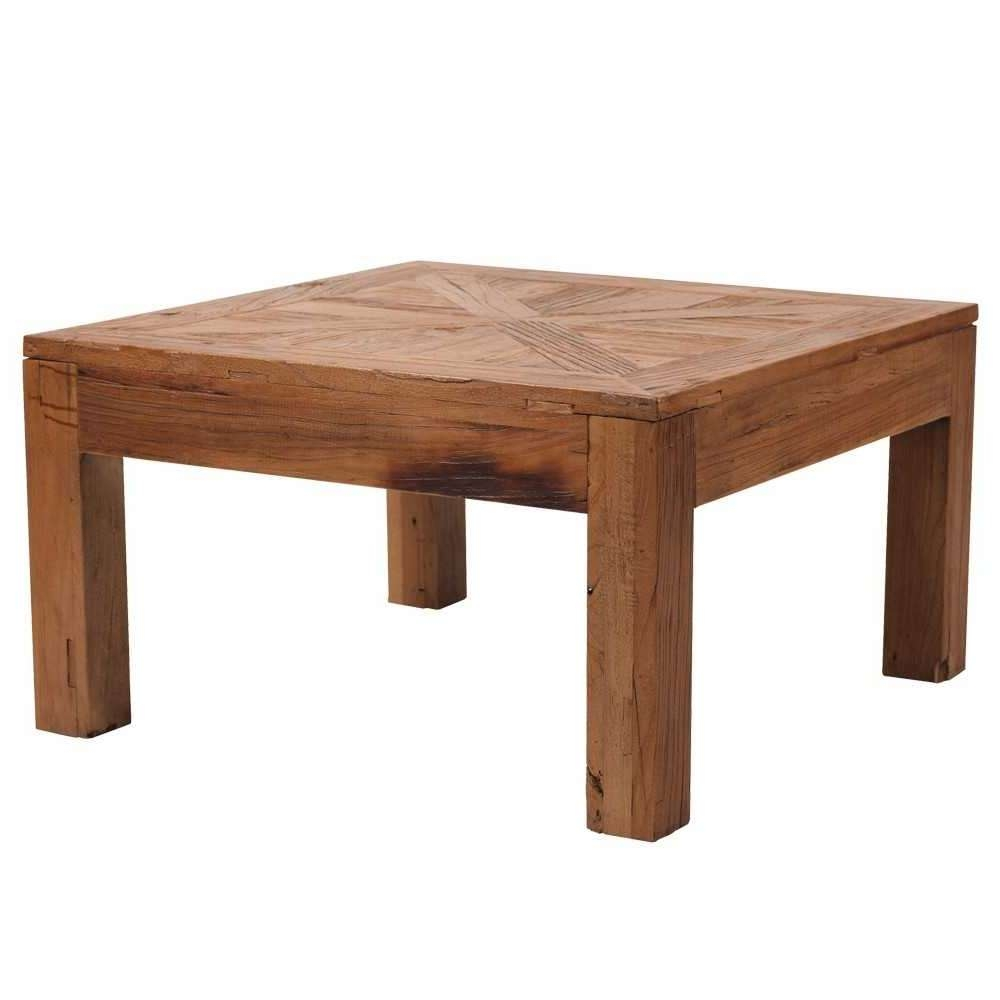 Square Wood Coffee Table (View 18 of 20)