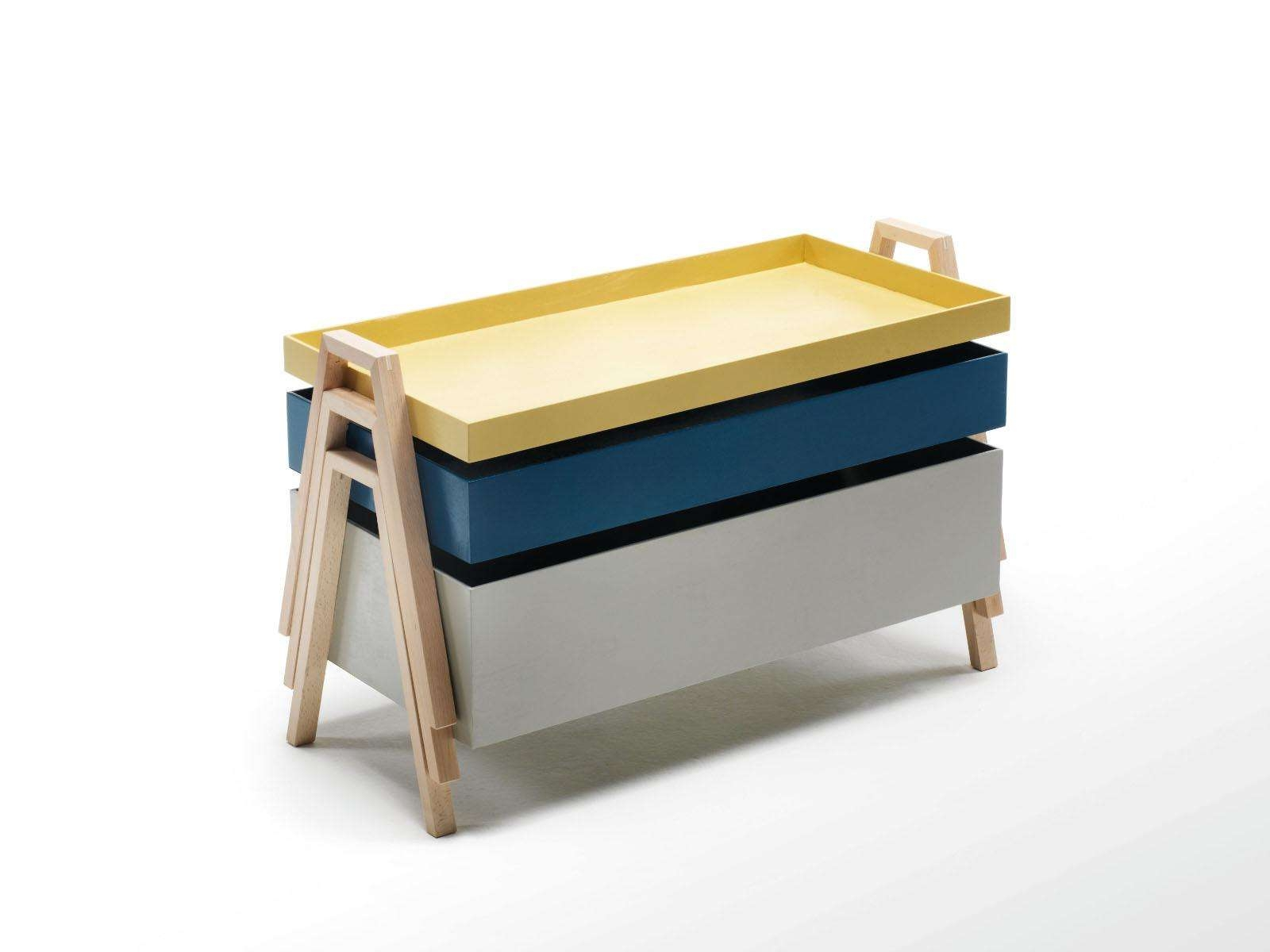 Stackable Wooden Coffee Table Stack Tableliving Divani Regarding Favorite Stackable Coffee Tables (View 16 of 20)