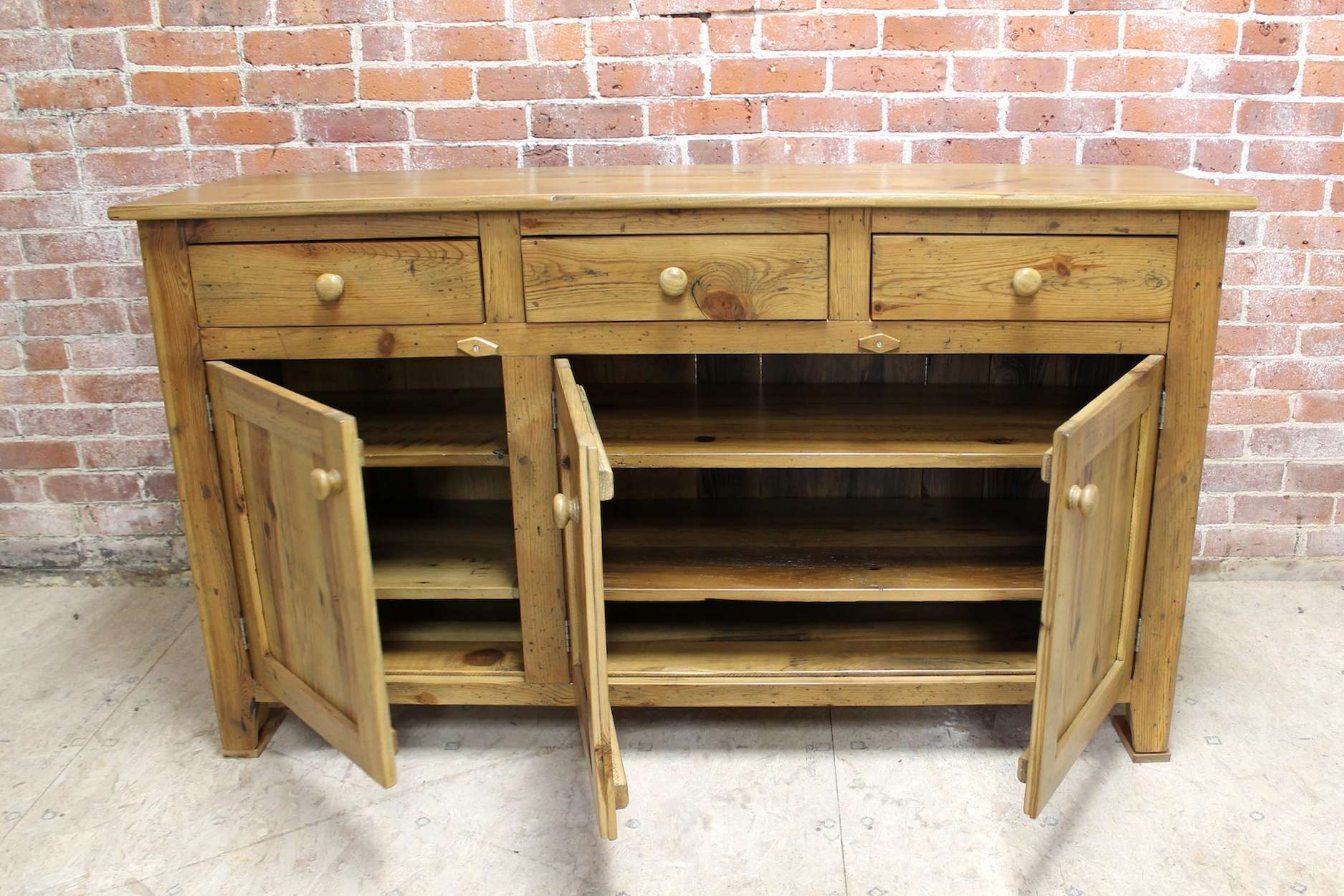 Standard 5Ft Buffet – Ecustomfinishes Throughout Rustic Buffet Sideboards (View 19 of 20)