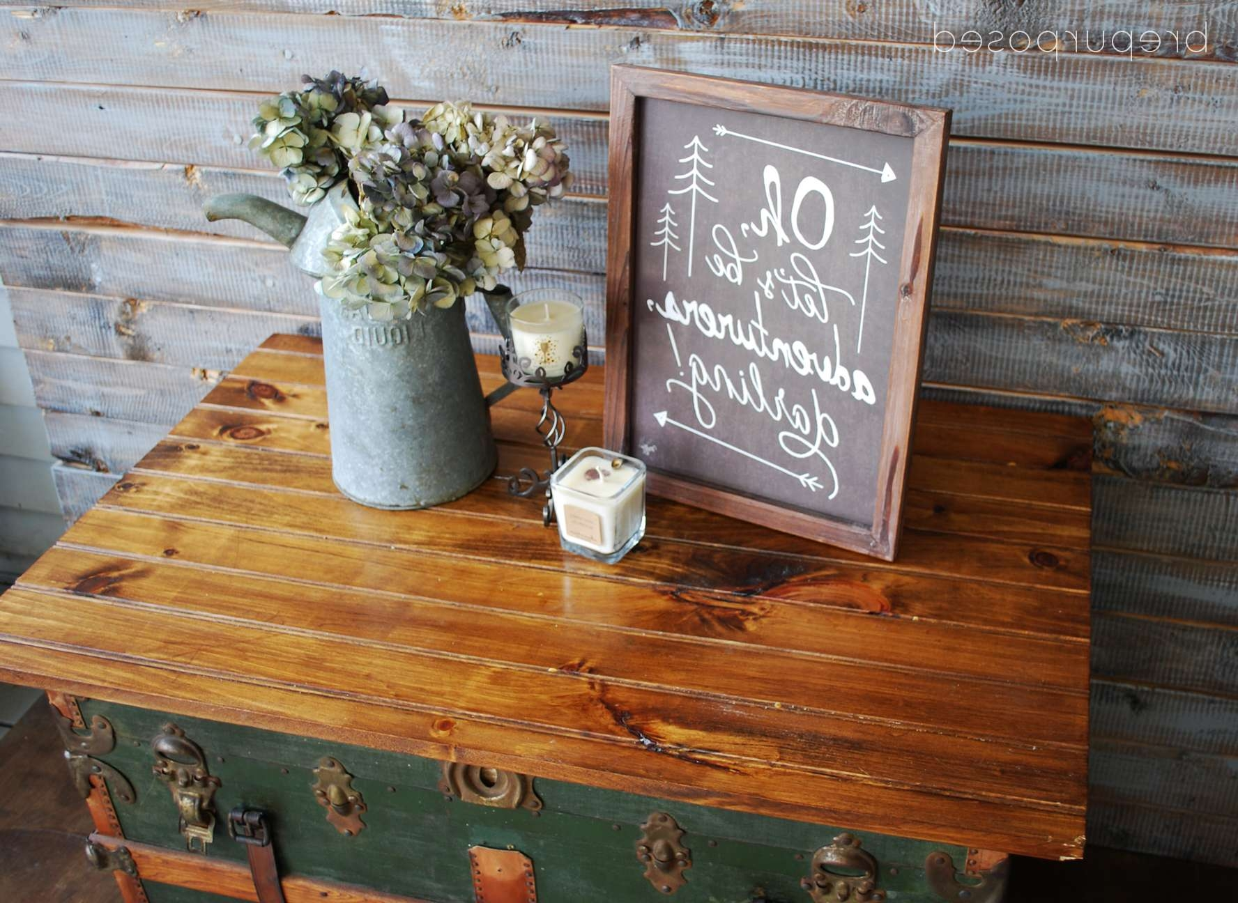 Steamer Trunk Turned Coffee Table (contributor Post) For Fashionable Old Trunks As Coffee Tables (View 9 of 20)