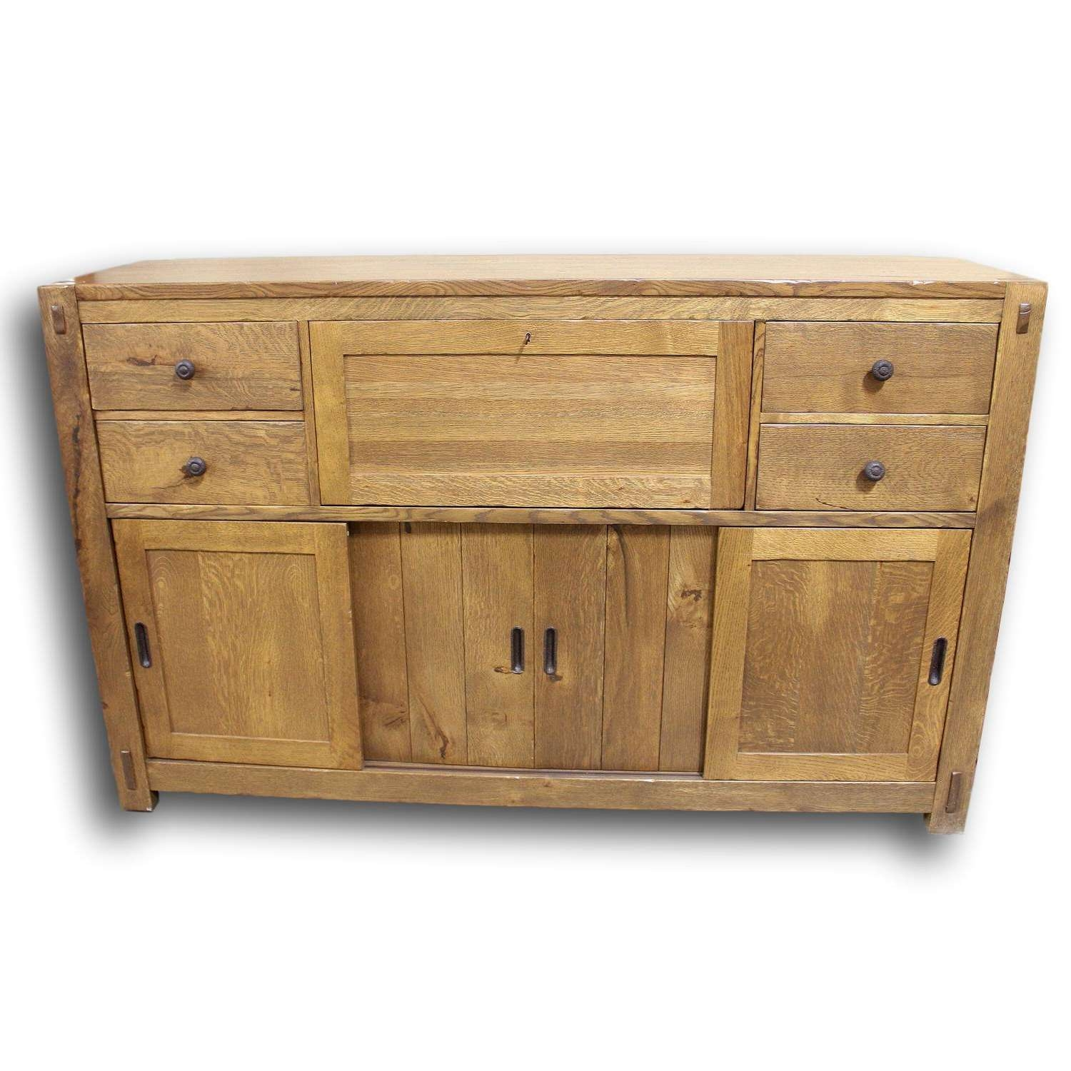 Stickley Oak Sideboard | Upscale Consignment Throughout Stickley Sideboards (View 17 of 20)