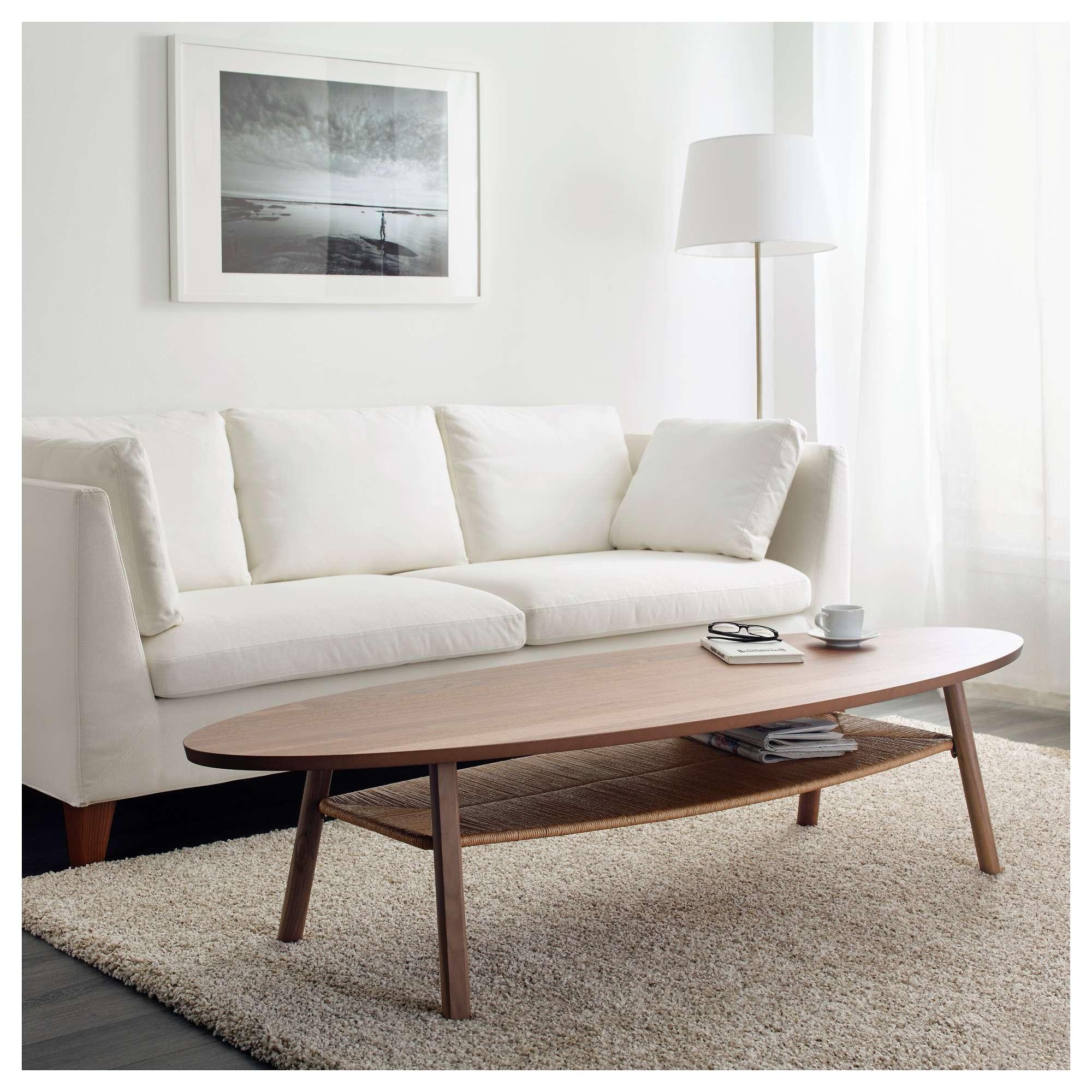 """Stockholm Coffee Table – Walnut Veneer, 70 7/8x23 1/4 """" – Ikea Regarding Trendy Beige Coffee Tables (View 15 of 20)"""