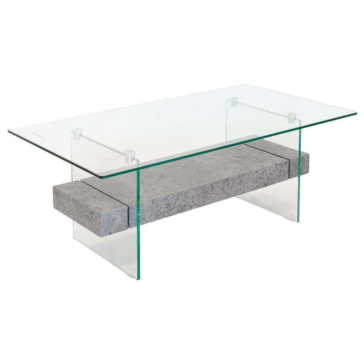 Stone Effect Glass Coffee Table – Be Fabulous! Within Recent Stone And Glass Coffee Tables (View 10 of 20)