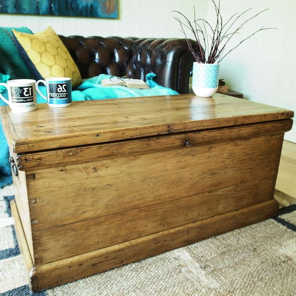 Storage Chest Coffee Table – Writehookstudio With Preferred Coffee Tables With Box Storage (View 13 of 20)