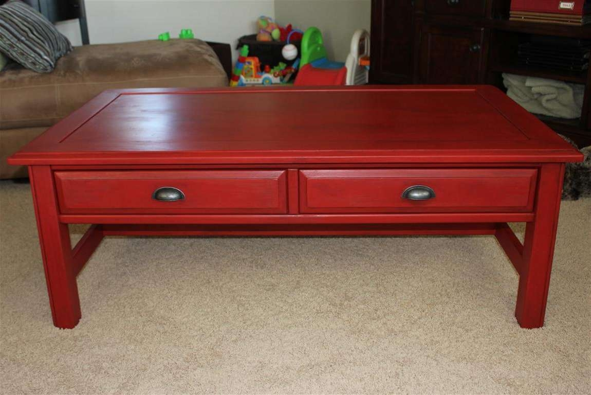 Stunning Red Coffee Table With Red Living Room Tables Rize Studios With Most Current Red Coffee Tables (View 13 of 20)