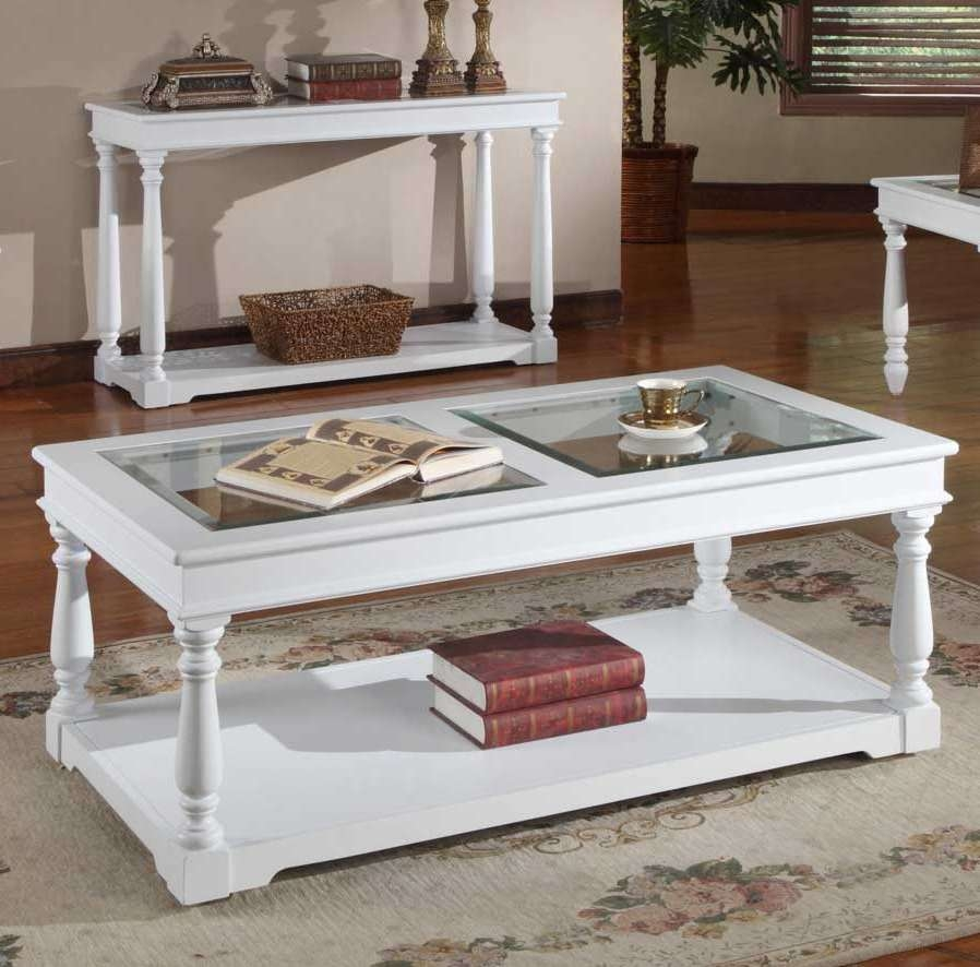 Stunning White Wood Coffee Table Ideas To Add Style And Make A Regarding Widely Used White Wood And Glass Coffee Tables (View 3 of 20)