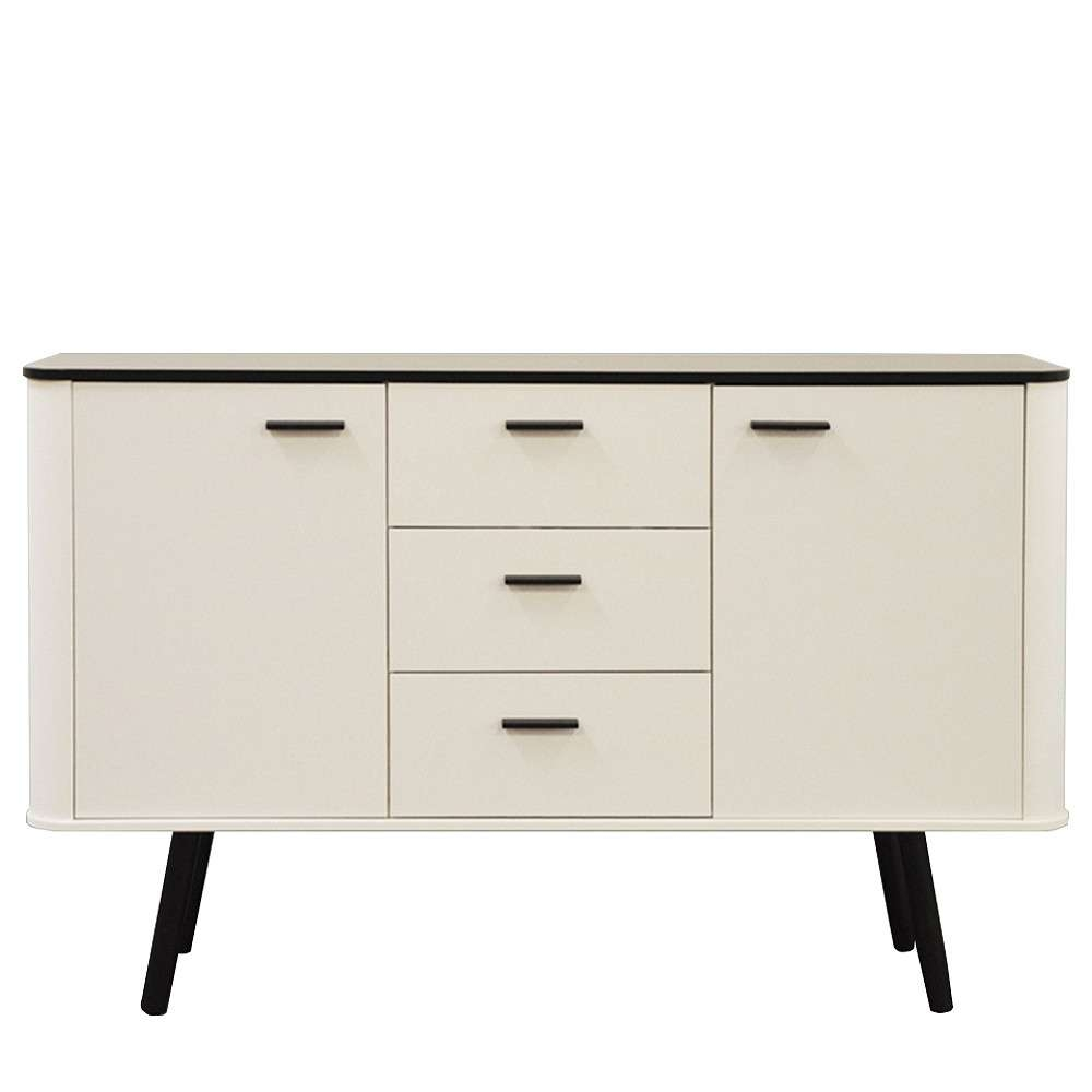 Style Sideboard With Black Legs Intended For Scandinavian Sideboards (View 19 of 20)