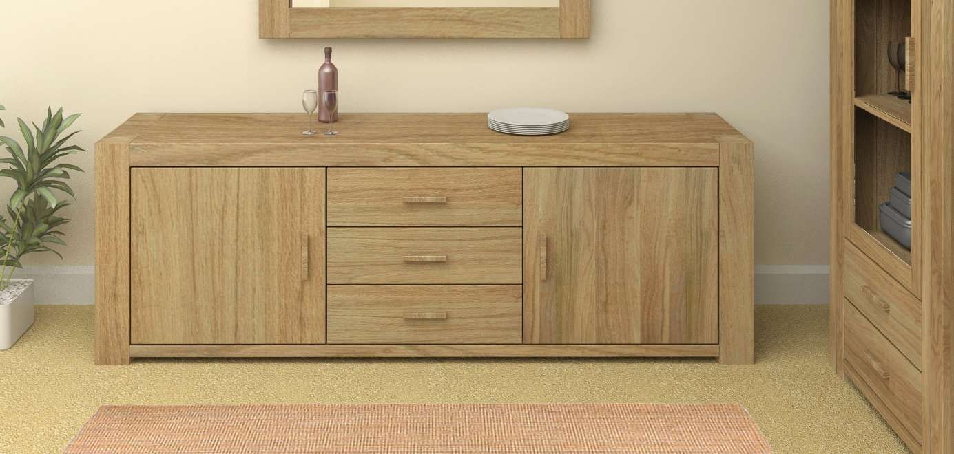 Styling & Storage: Oak Sideboards | Oak Furniture Company In Oak Sideboards (View 15 of 20)