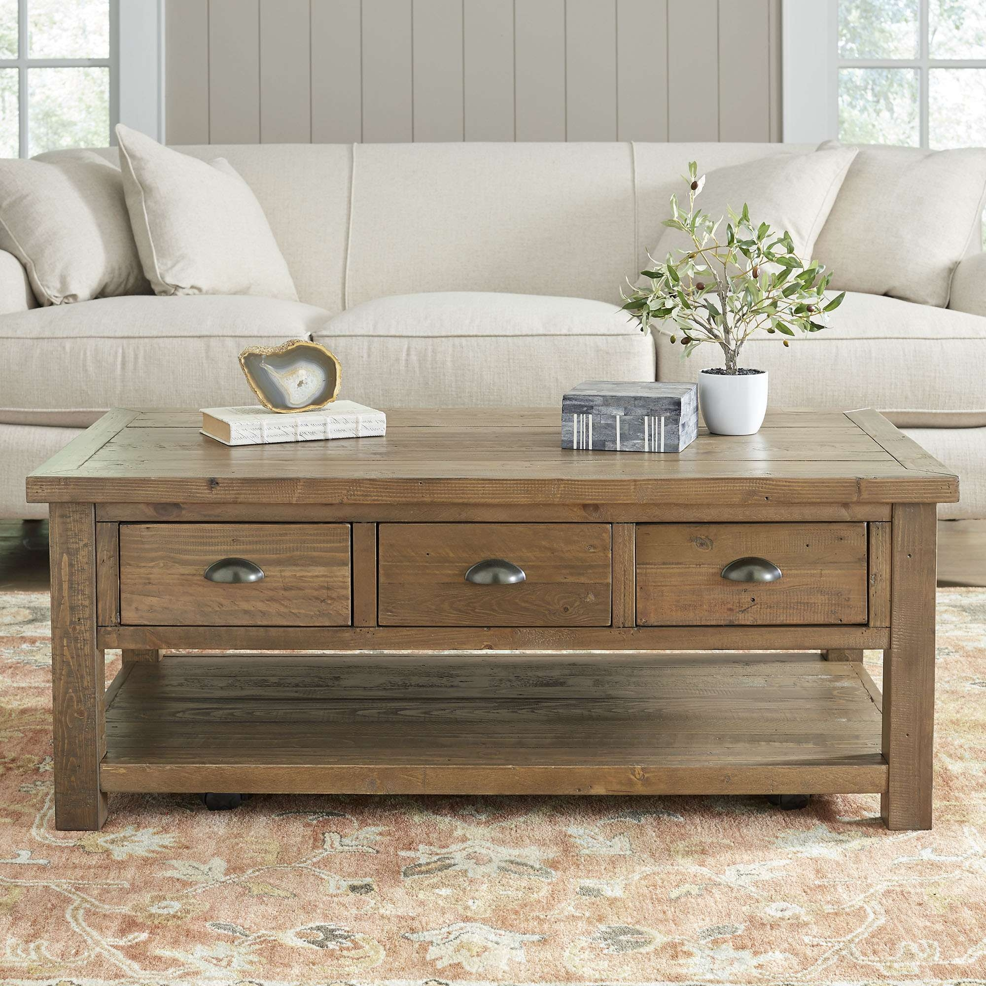 Stylish Coffee Table With Drawers (View 17 of 20)