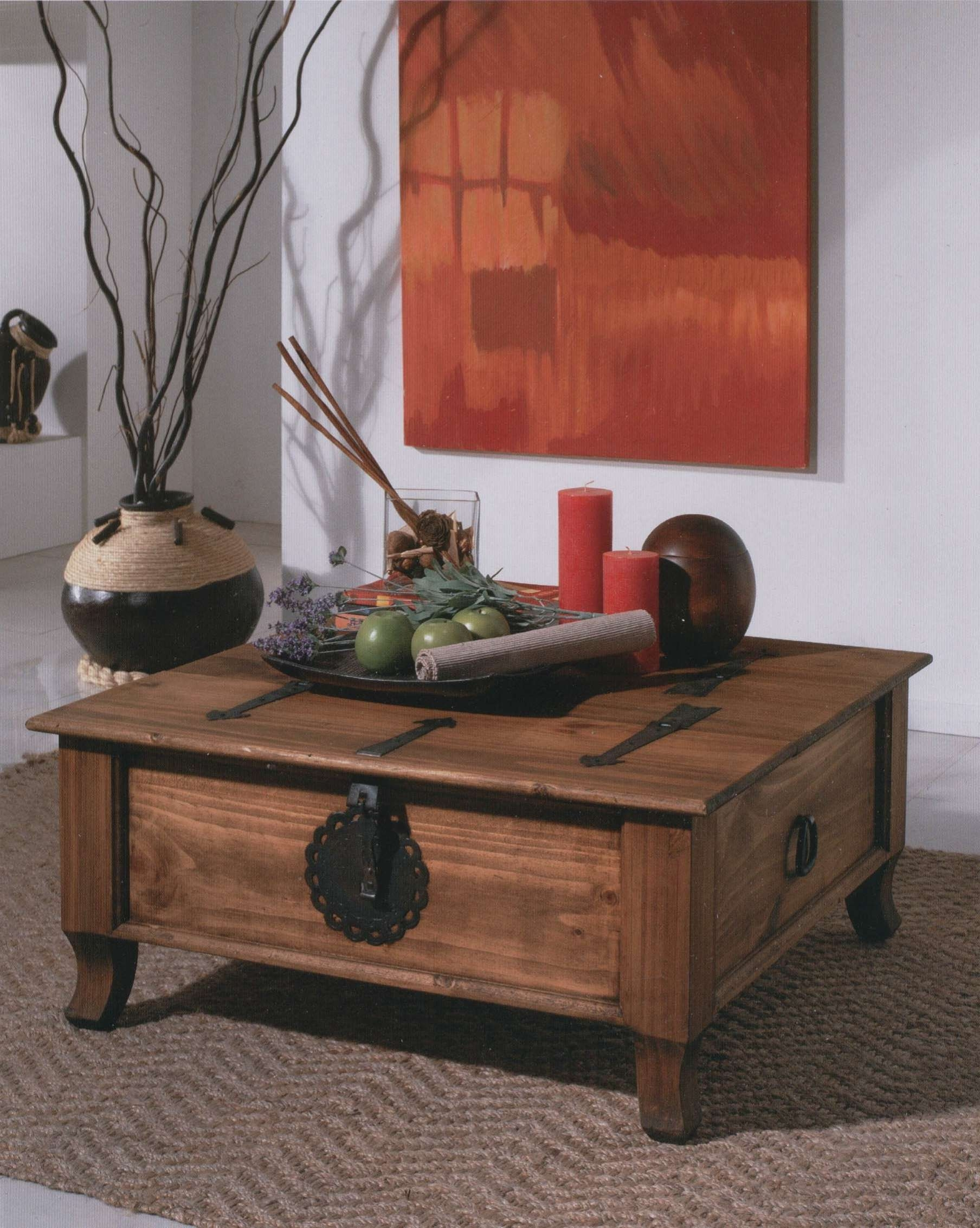 Displaying Gallery of Dark Wood Chest Coffee Tables View 3 of 20