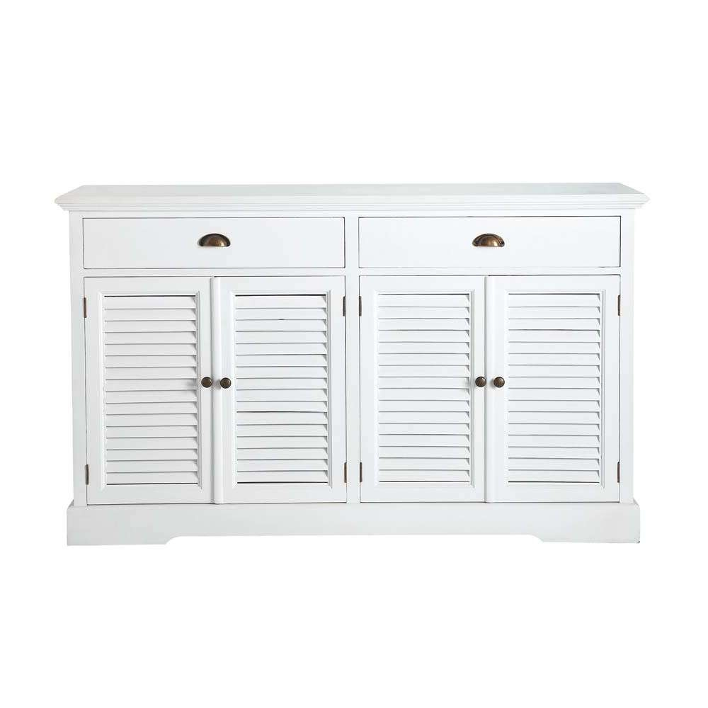 Suitable Mango Wood Sideboard Tags : White Wooden Sideboards Throughout White Wood Sideboards (View 15 of 20)