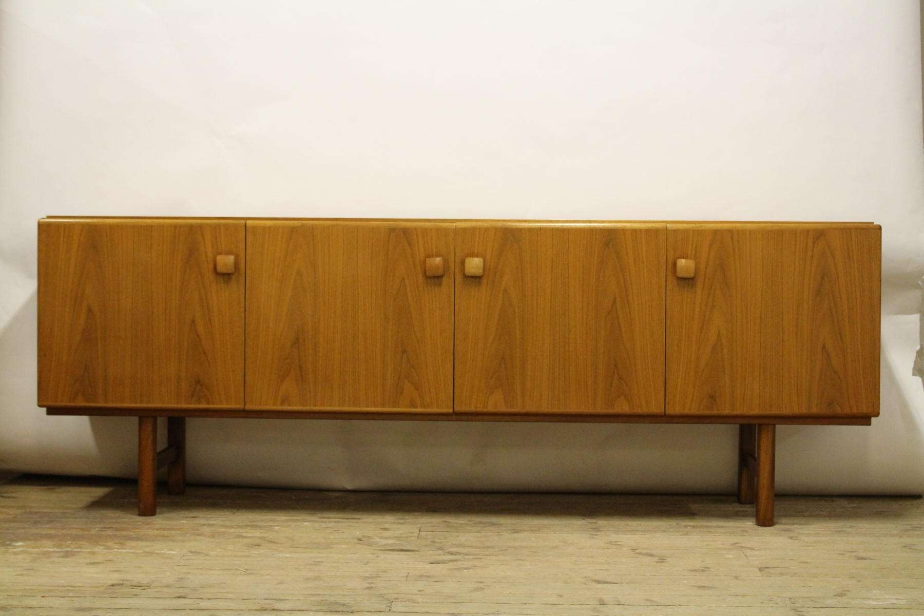 Swedish Walnut Sideboard From Ab Carlsson, 1960s For Sale At Pamono Throughout Walnut Sideboards (View 13 of 20)