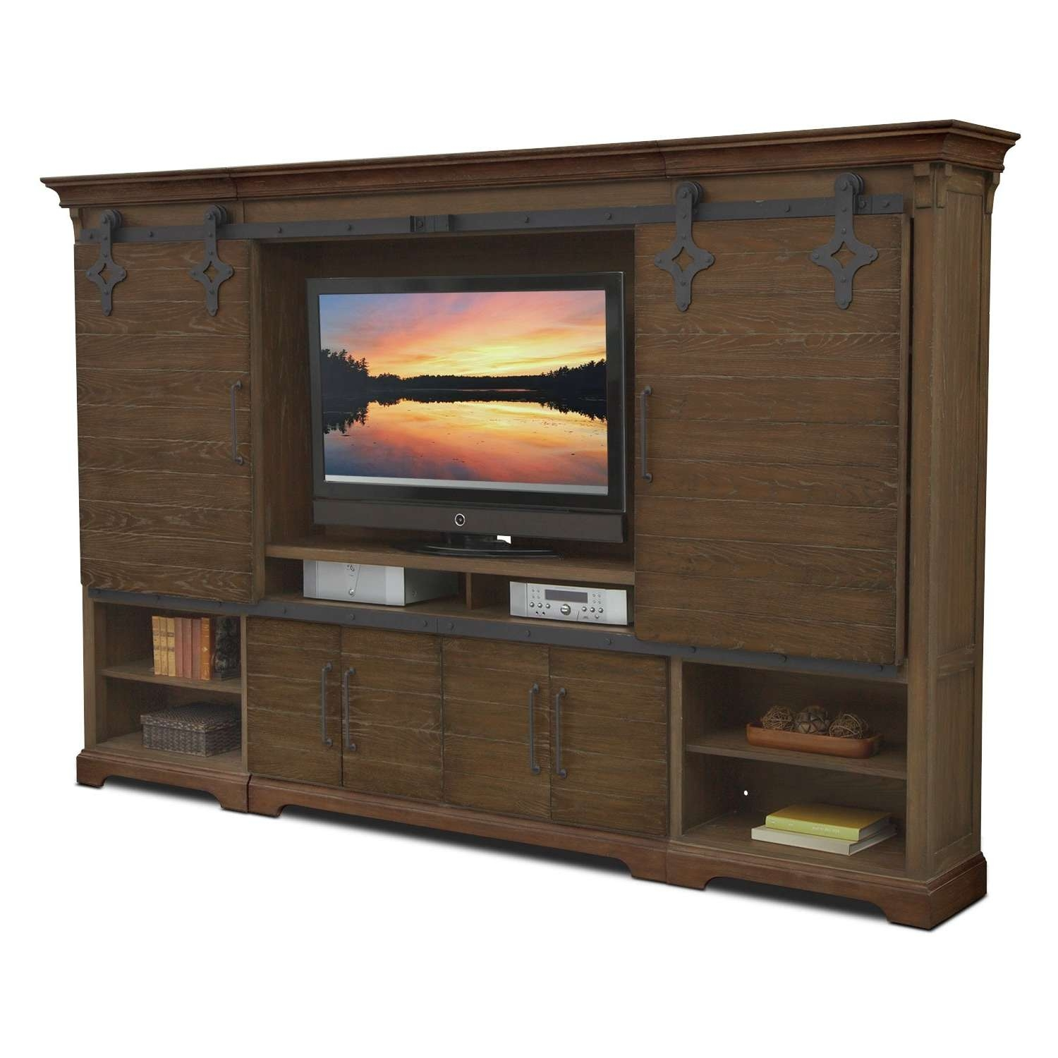 T V Stands & Media Centers | American Signature Furniture With Traditional Tv Cabinets (View 8 of 20)
