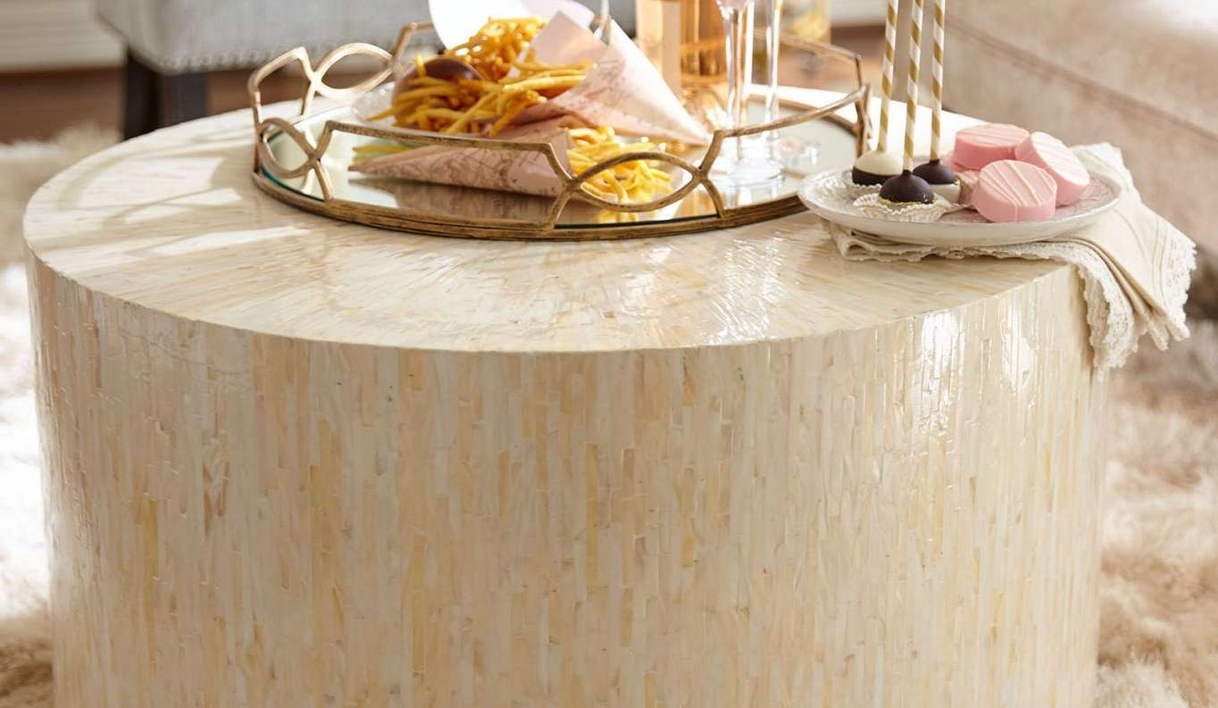 Table : Coffee Table Arrangements Awesome Mother Of Pearl Coffee Throughout Most Up To Date Mother Of Pearl Coffee Tables (View 19 of 20)