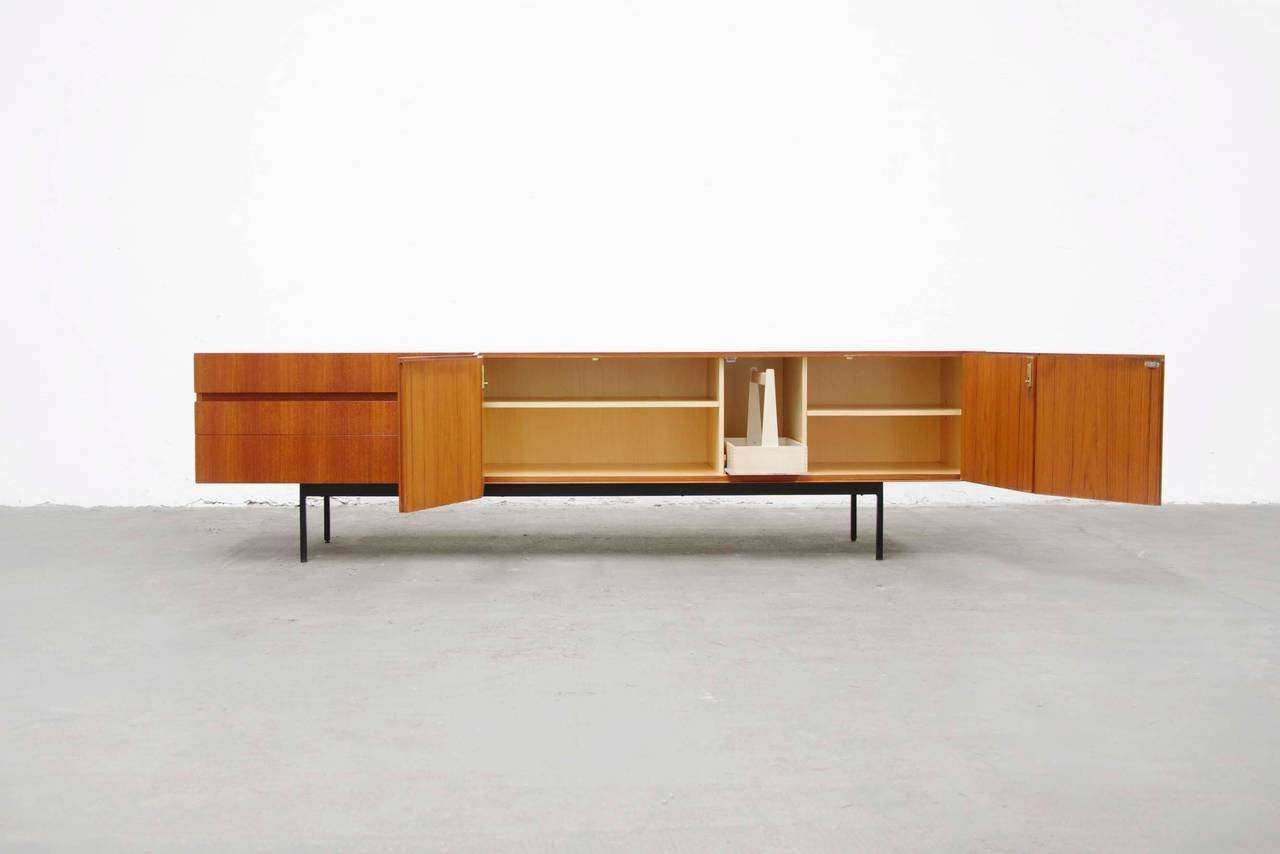 Teak Sideboard B41Dieter Waeckerlin For Behr Mid Century Intended For Mid Century Modern Sideboards (View 18 of 20)