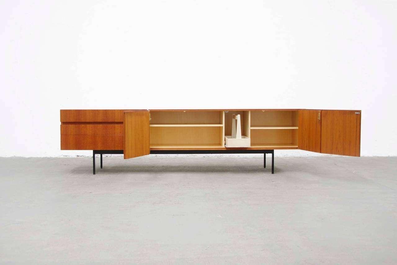 Teak Sideboard B41Dieter Waeckerlin For Behr Mid Century Intended For Mid Century Modern Sideboards (View 18 of 20)