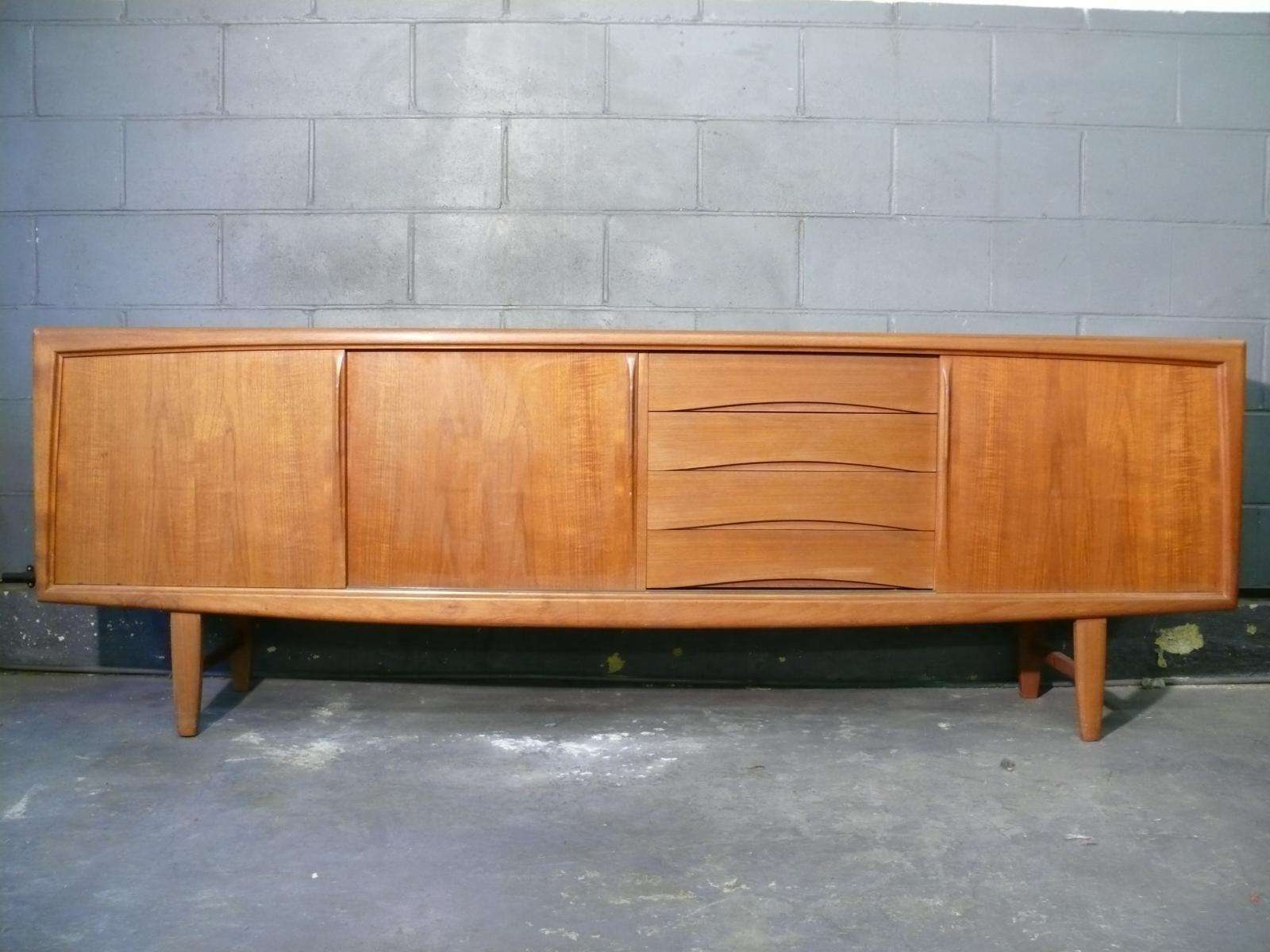 Teak Sideboard From Axel Christiansen, 1960S For Sale At Pamono With Teak Sideboards (View 16 of 20)