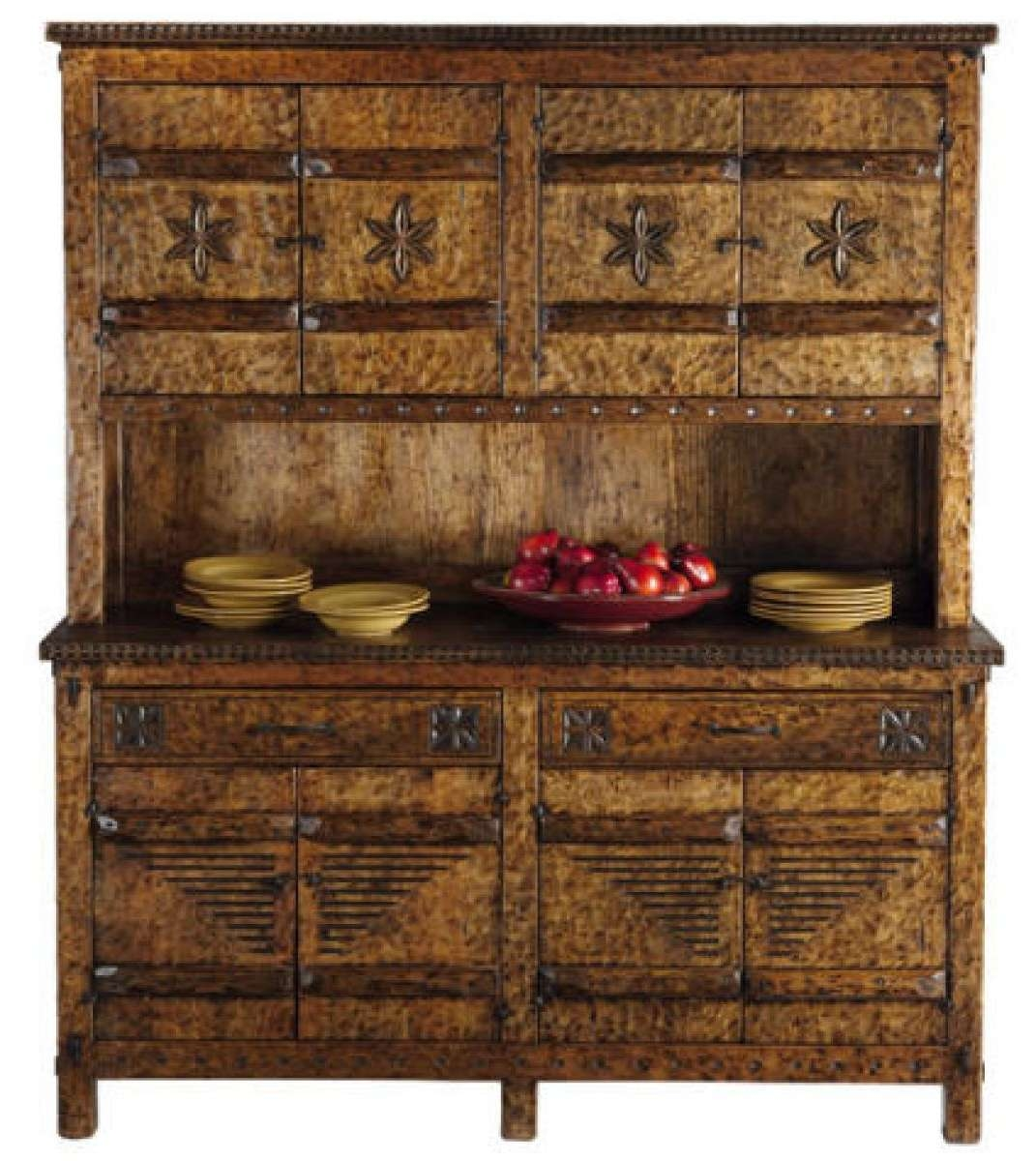 Tecolote Sideboard And Hutch: Southwest Furniture, Santa Fe Style With Sideboards With Hutch (View 14 of 20)