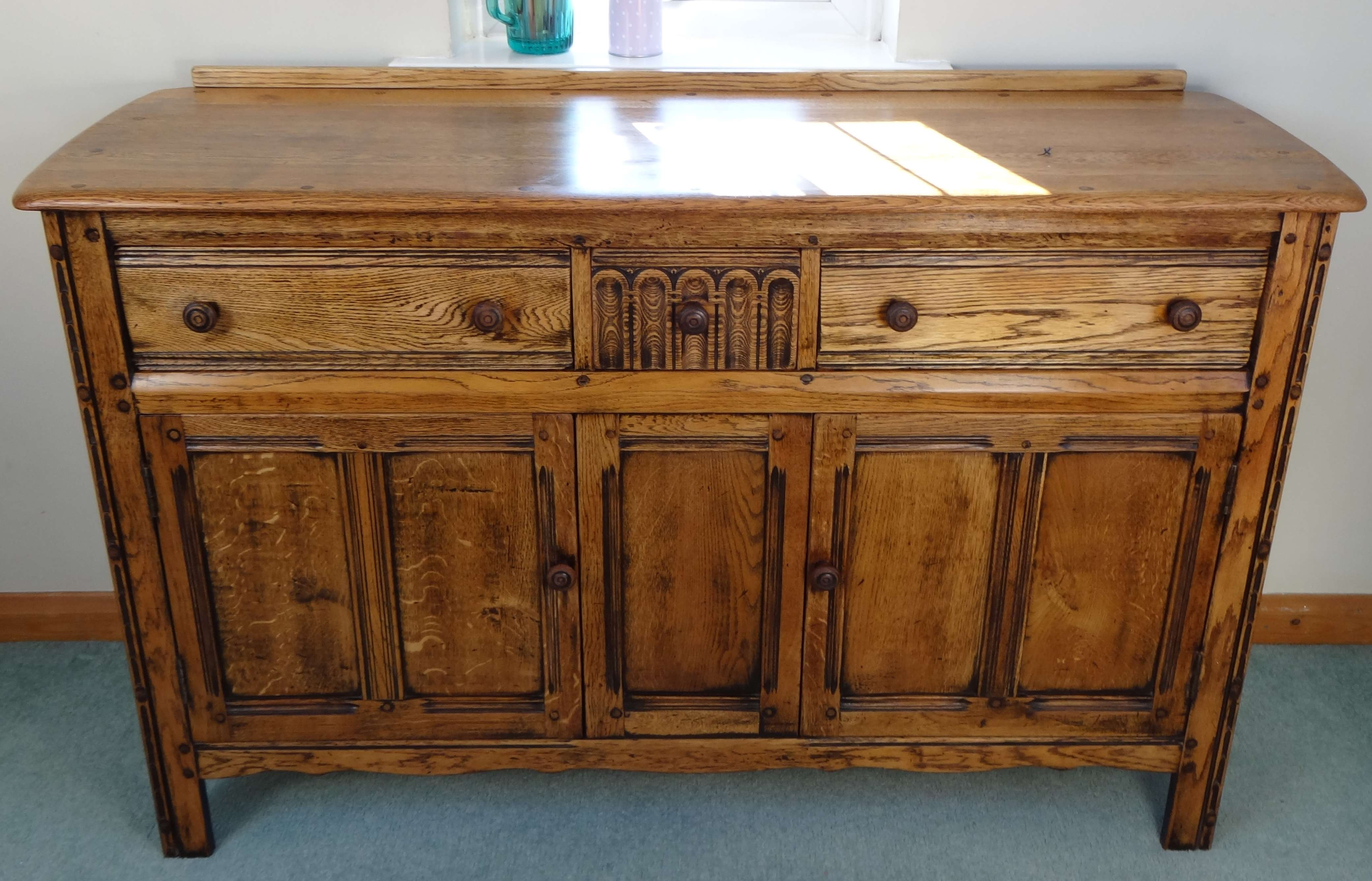 The 3 R's Of Vintage – Rescue, Revive And Relove! | Thestitchsharer For Antique Oak Sideboards (View 16 of 20)